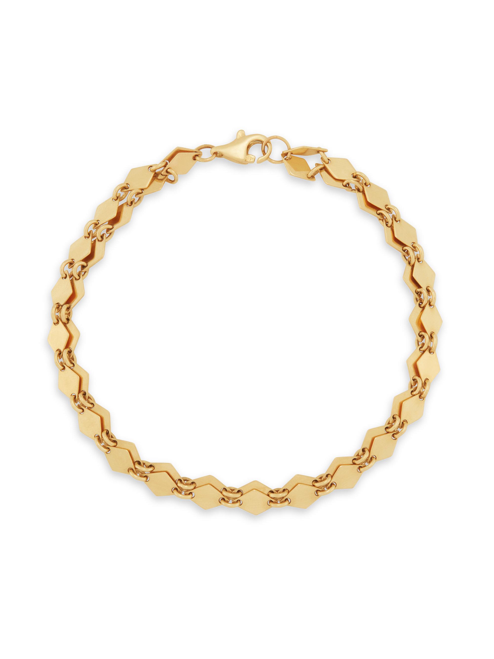 Lana Jewelry 14k Mini Kite Chain Bracelet m0d3Y