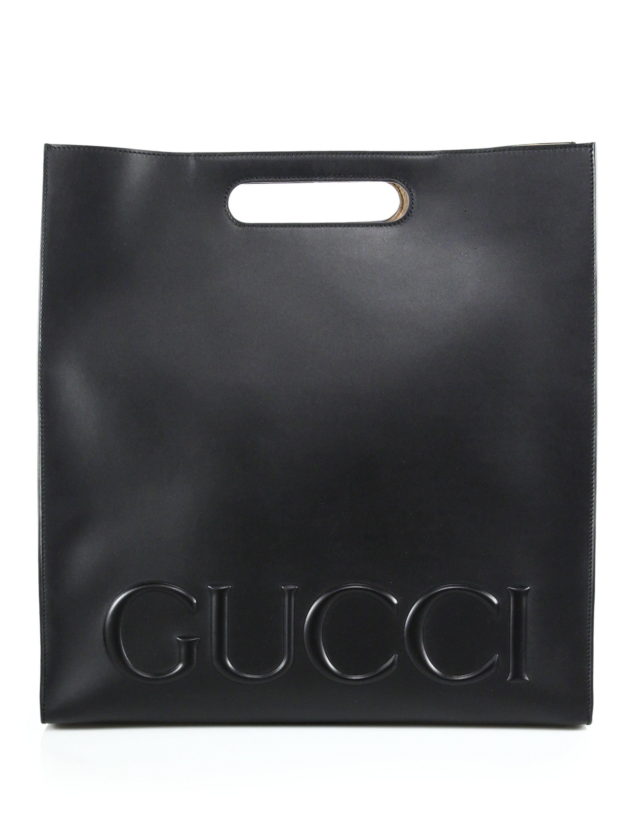 0517cf2bb80 Lyst - Gucci Tote Bag in Black for Men