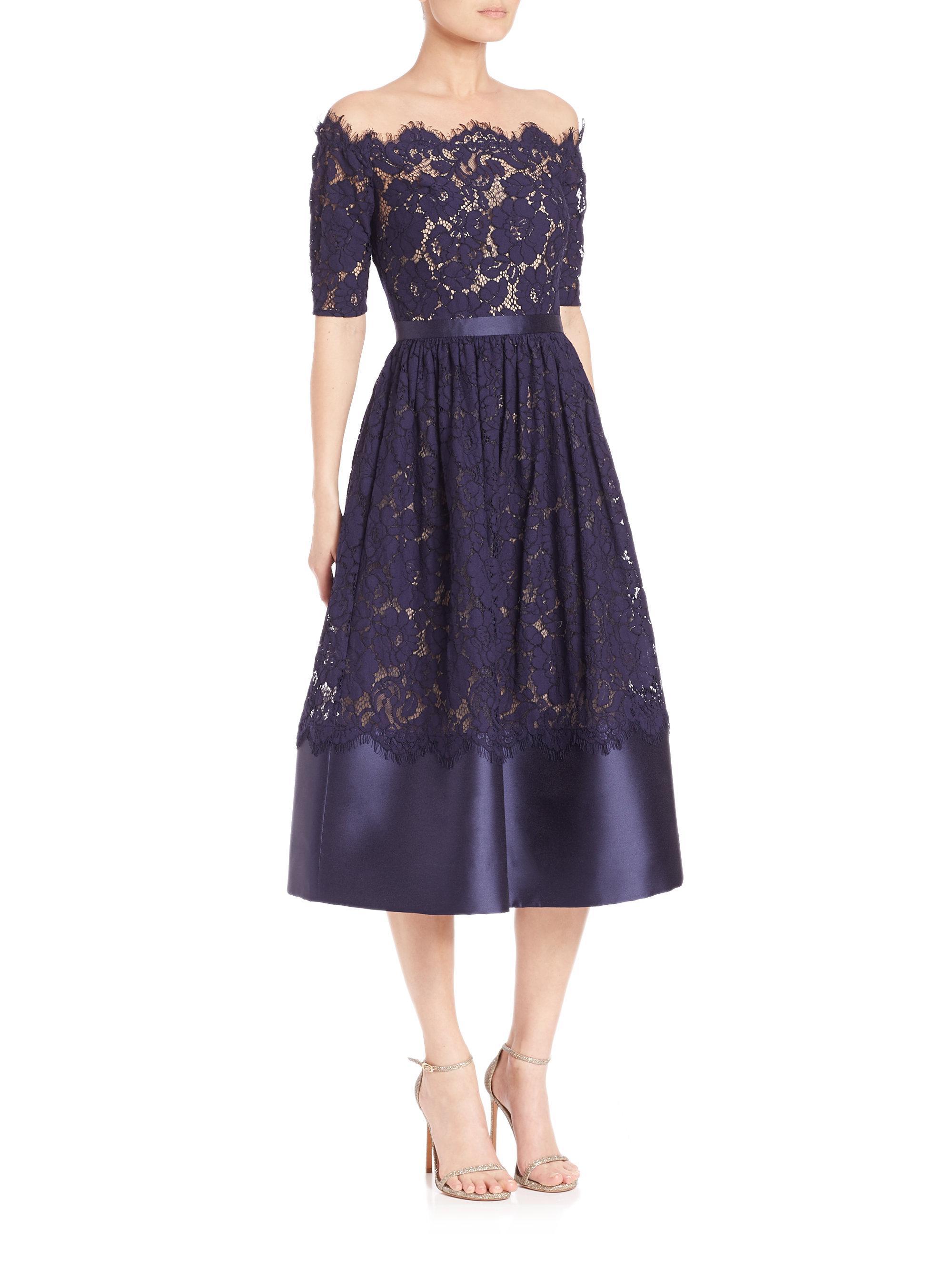 Vistoso Monique Lhuillier Cocktail Dress Ideas Ornamento Elaboración ...