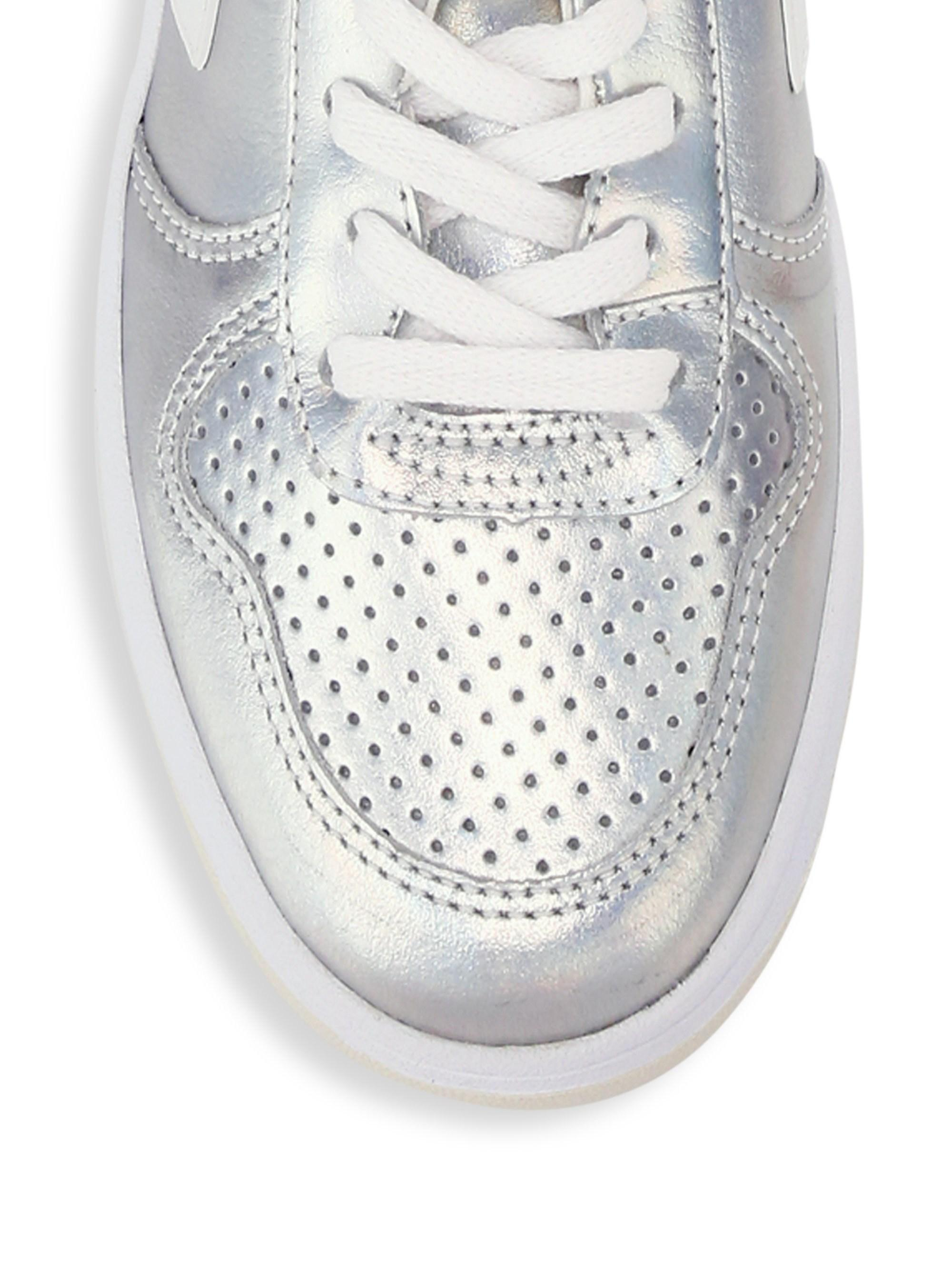V Veja Leather Silver 10 Unicorn Low Top Lyst Sneakers Women's n0Nw8m