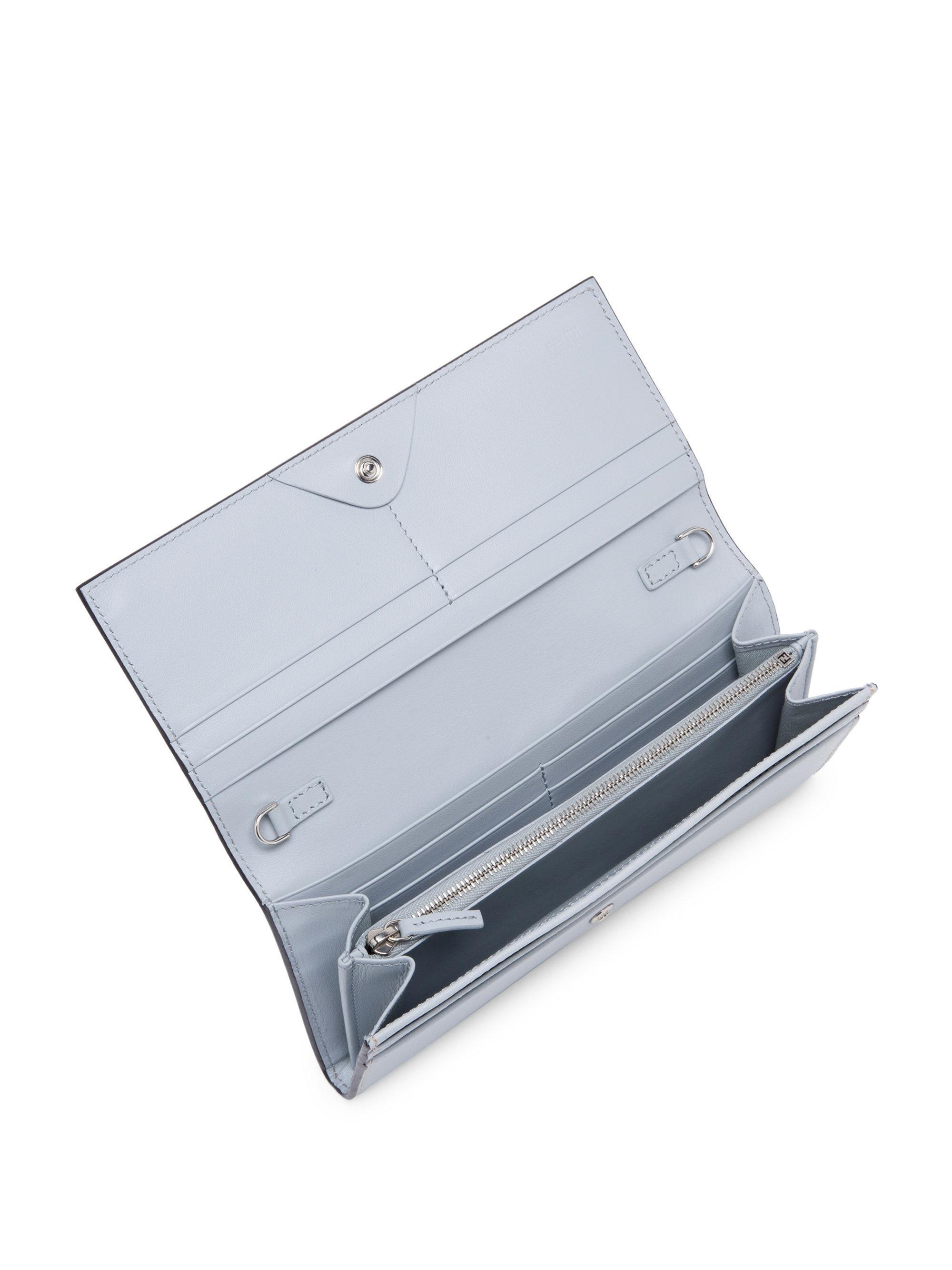Fendi Monster Color Block Wallet On Chain Lyst. Women S Leather Wallets  Fendi ea07145031201