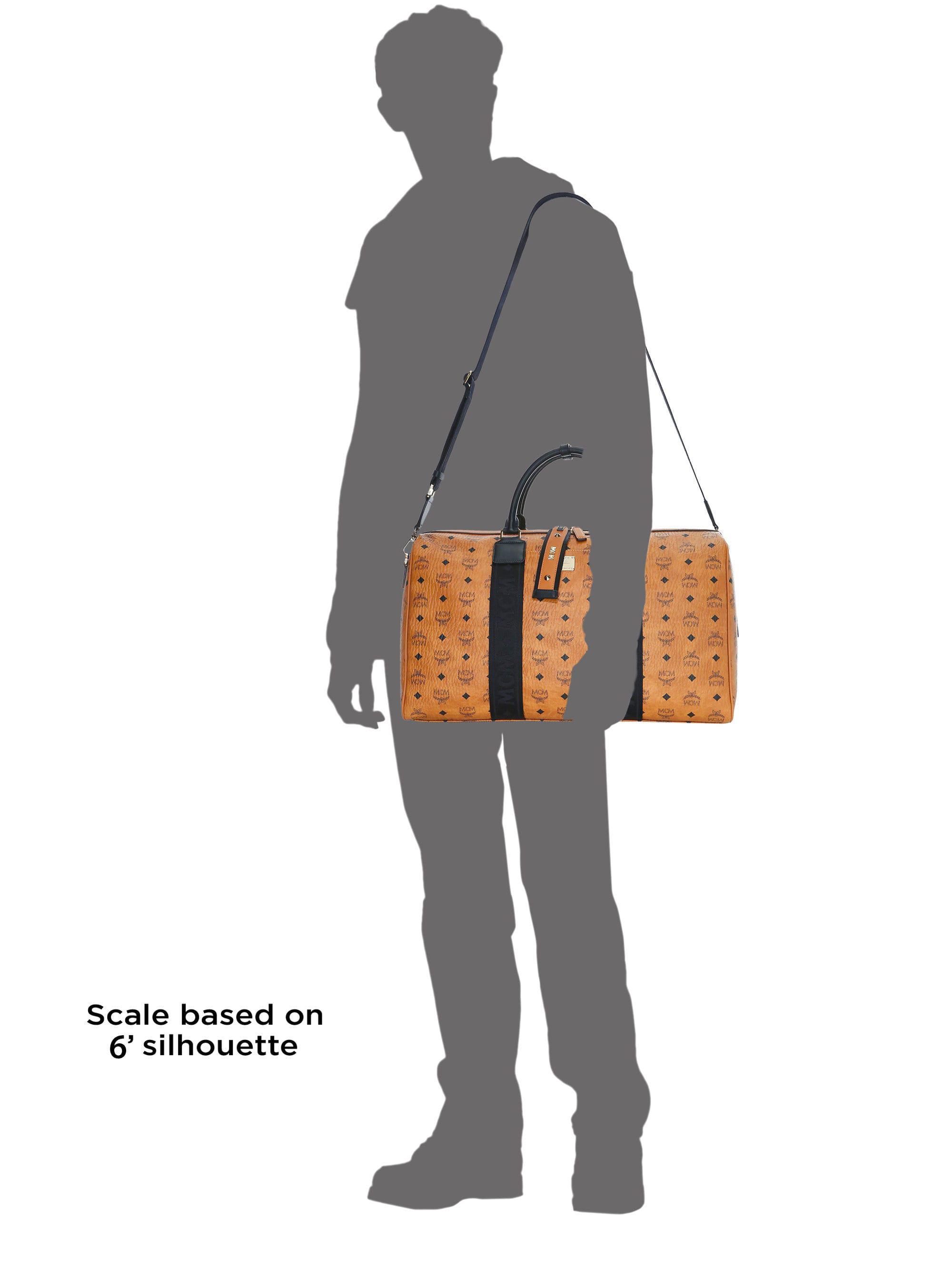 a1e00d2421 Mcm Weekender Visetos Coated Canvas Traveler Duffel Bag for Men - Lyst