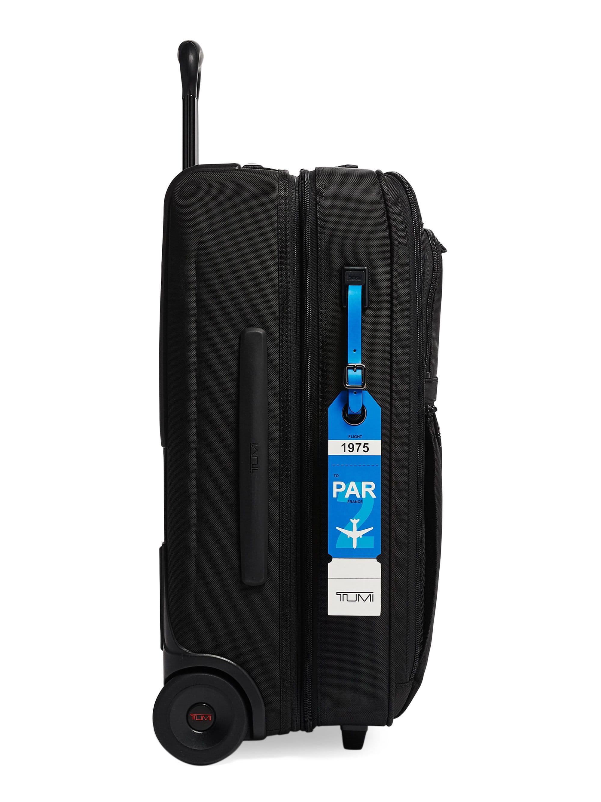 063b1ae1b32 Tumi Men's Paris Leather Luggage Tag - Blue in Blue for Men - Lyst