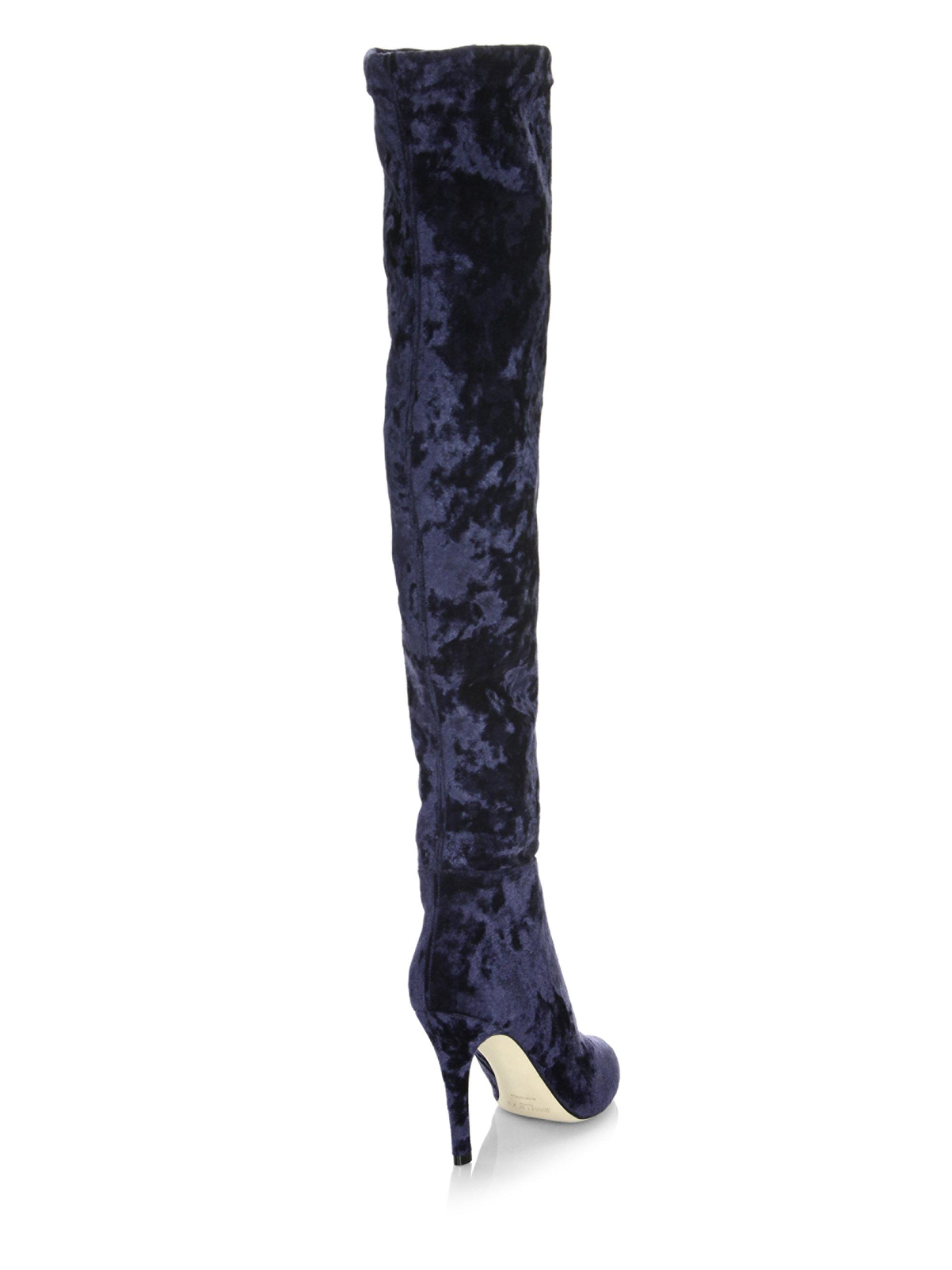 Jimmy Choo Over-The-Knee Fringe Boots discounts cheap online wide range of sale online great deals online fake sale online fashion Style eN7zAB