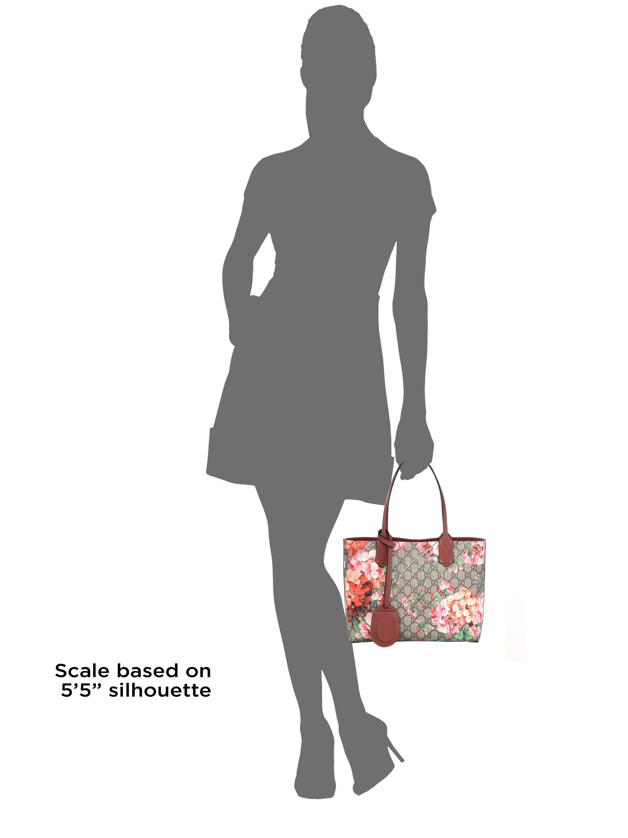 3ac13f70ee4 Lyst - Gucci Gg Blooms Small Reversible Tote in Pink
