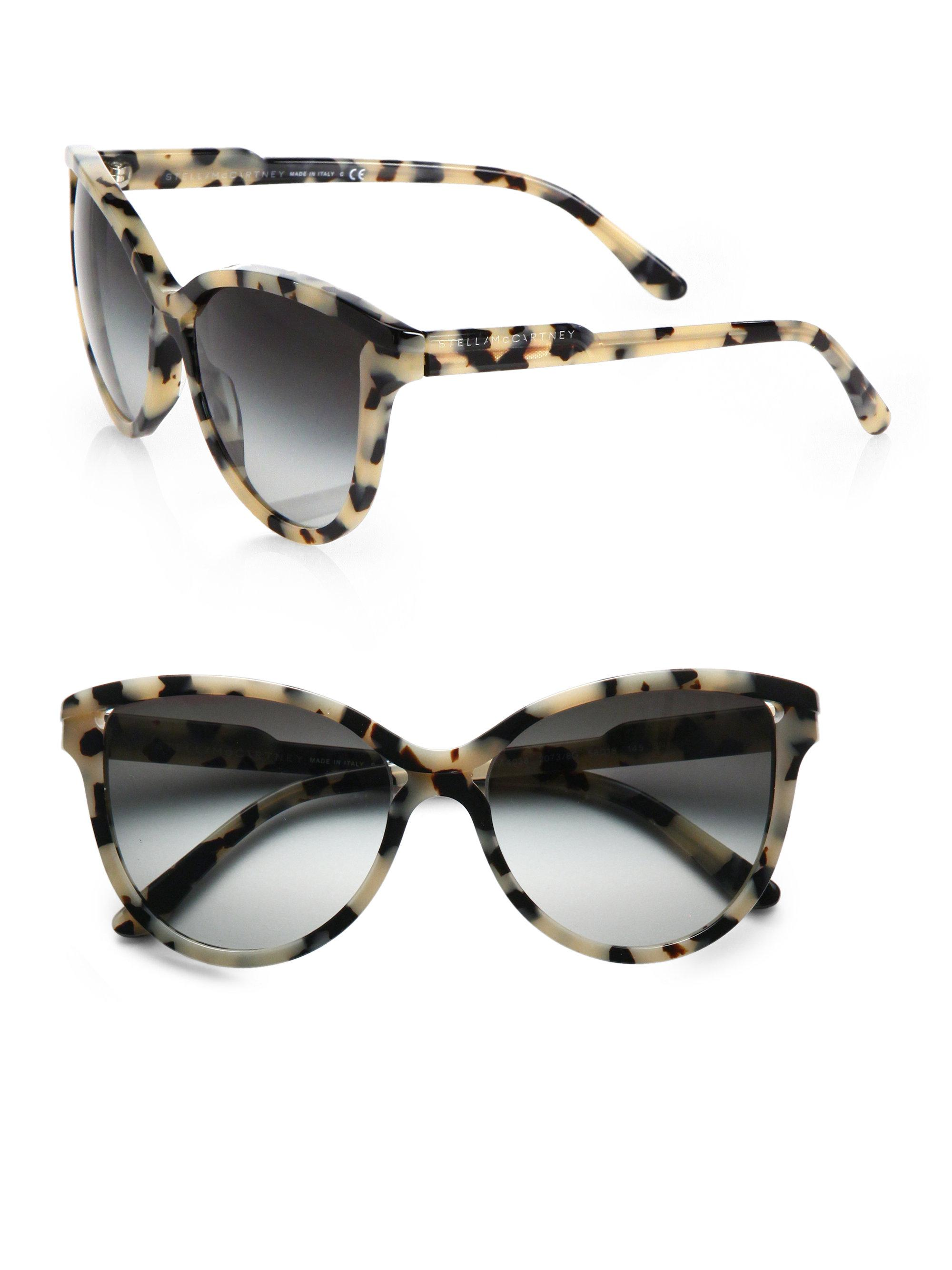Lyst Stella Mccartney Butterfly Acetate Cat S Eye