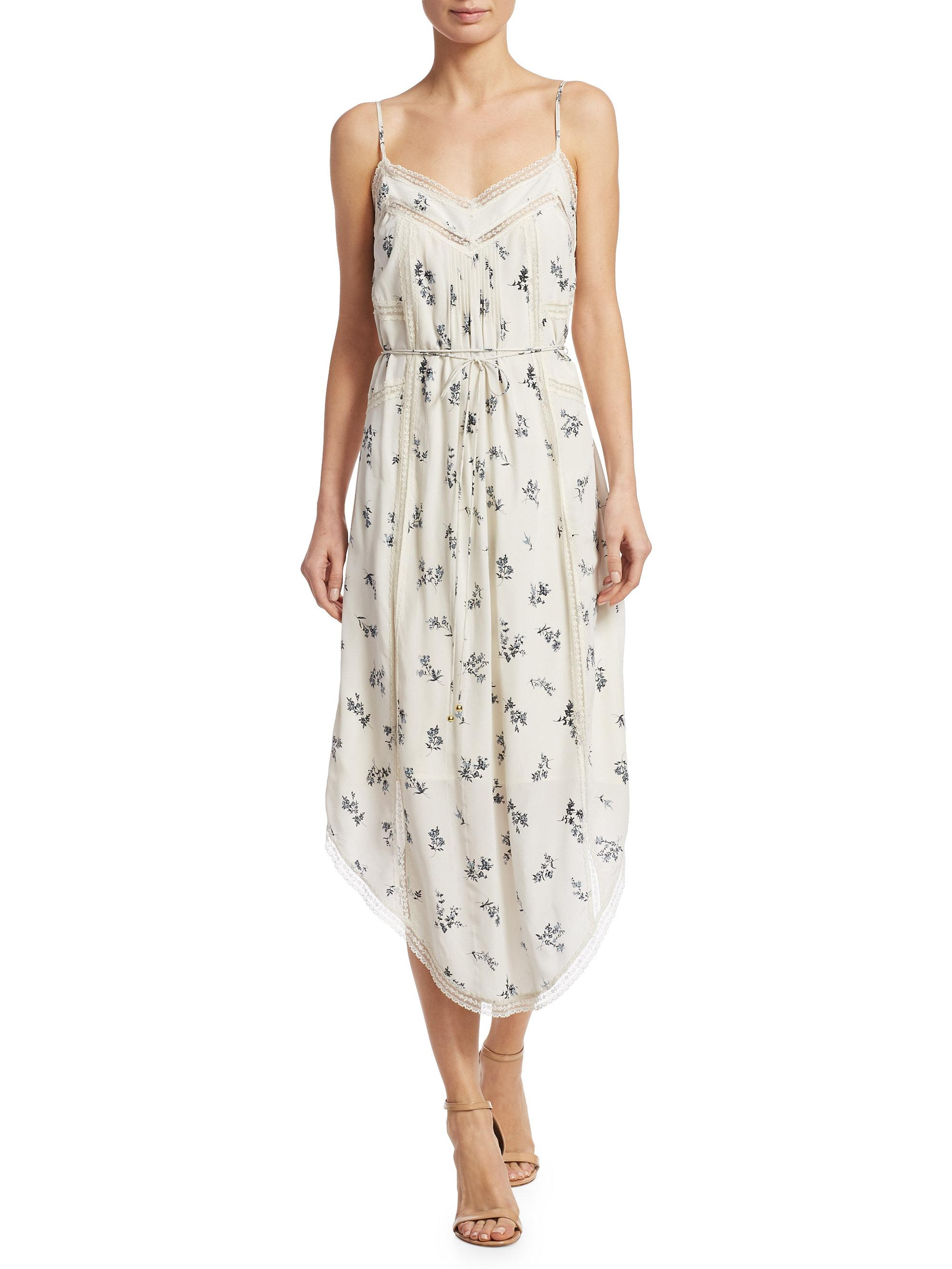 Free Shipping Get To Buy Whitewash pintuck dress Zimmermann Outlet Order Online Sale Real Clearance Perfect dPI6osoP