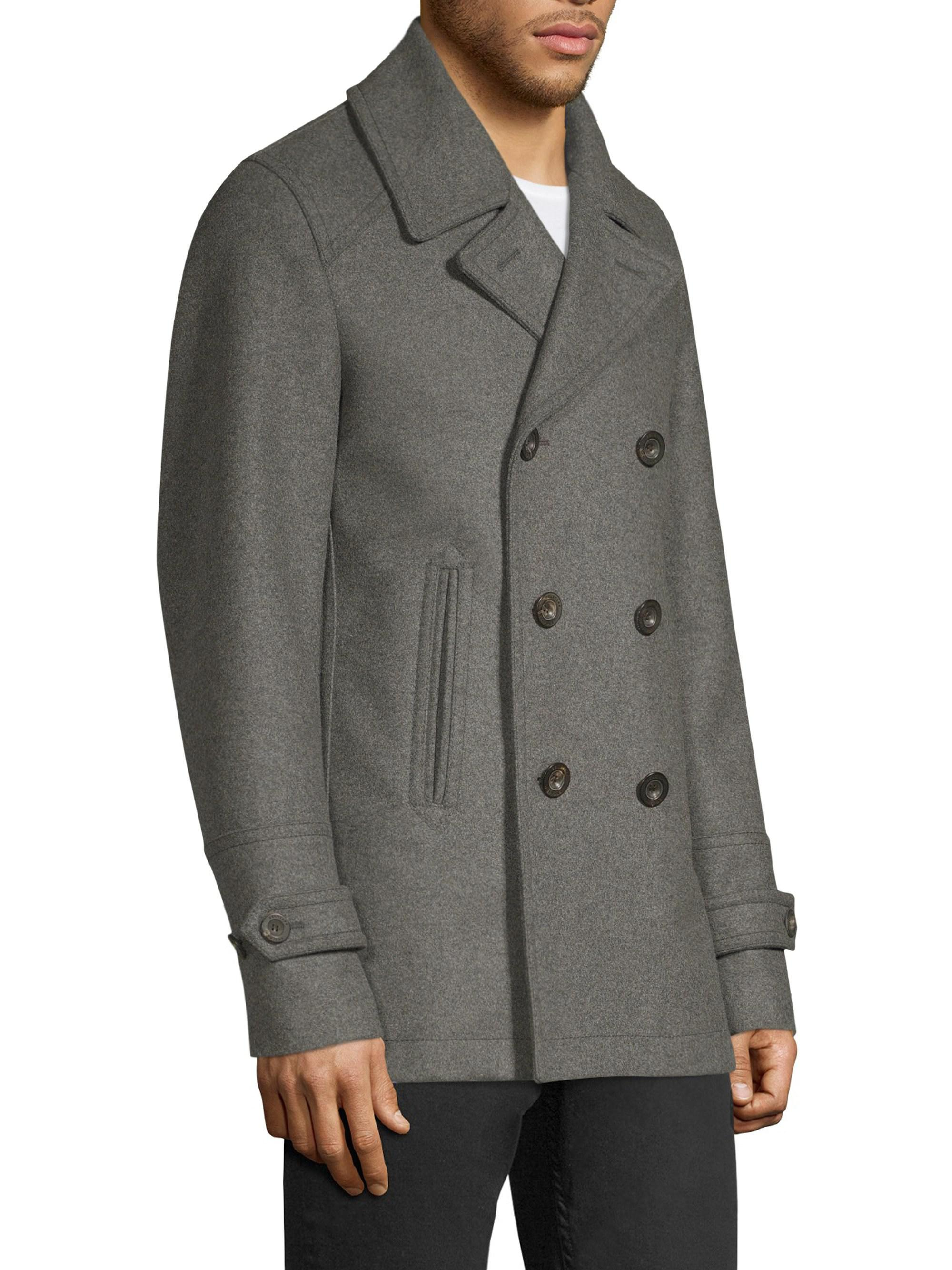 Virgin Belstaff Breasted Men Double Duran View Fullscreen Lyst Blend For Overcoat Gray Wool xIIqprCOw
