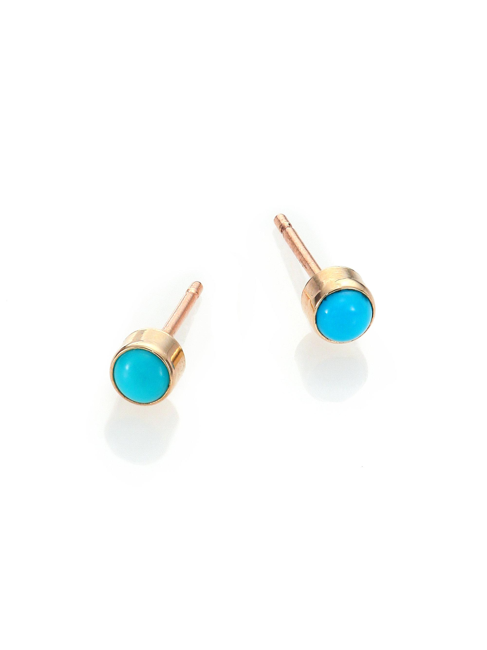 silver style bali synthetic jewelry p fashion stud turquoise earrings bling