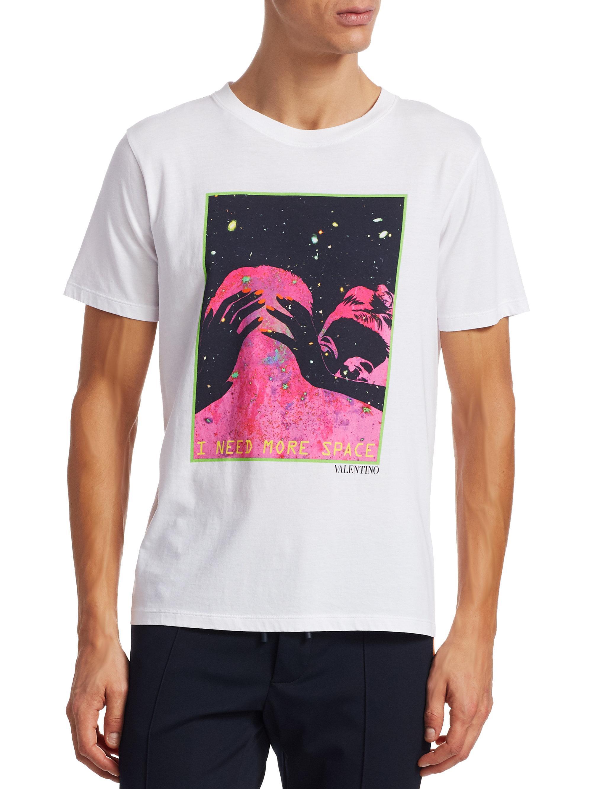 más del Necesito espacio valentino camiseta F8wq7Y