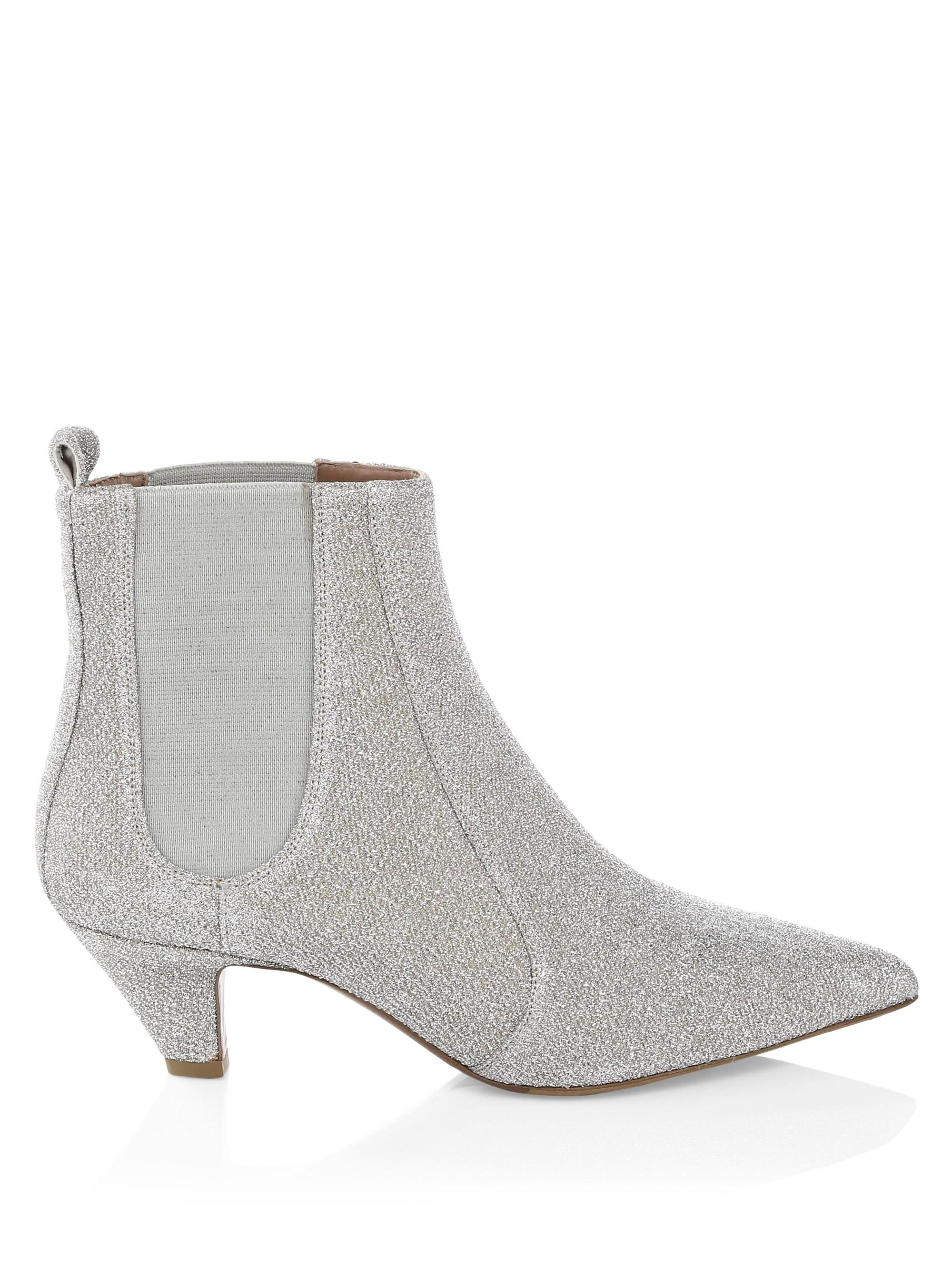 Tabitha Simmons Effie Sequin Ankle Boots d7MJ8OnCN