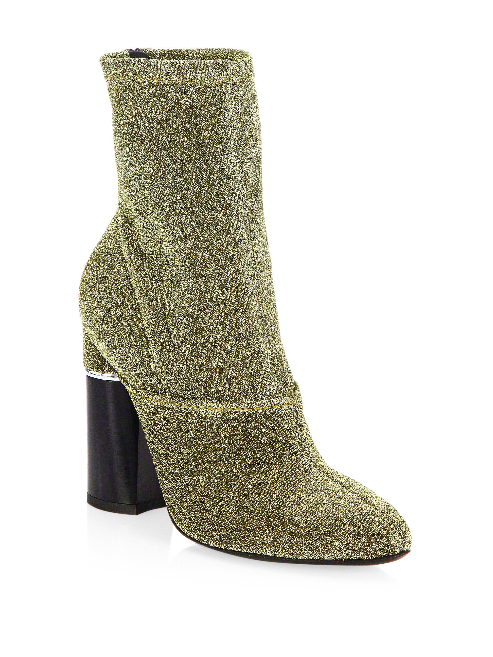 3.1 Phillip Lim Metallic Kyoto Ankle Boots cheap sale outlet store G51TW