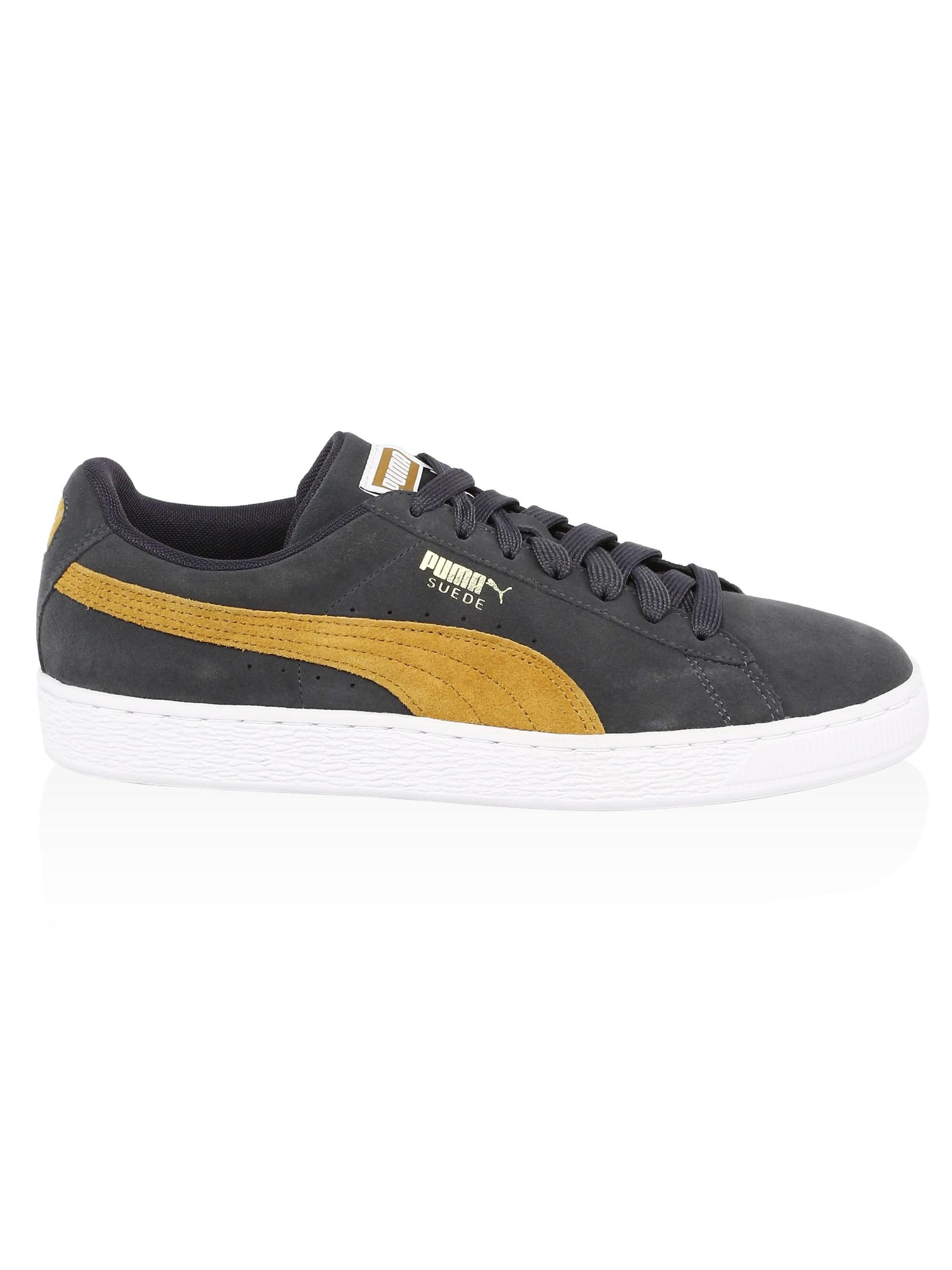 19aa8787de32 PUMA Men s Suede Classic Iron Gate Sneakers - Iron Gate - Size 8 for ...