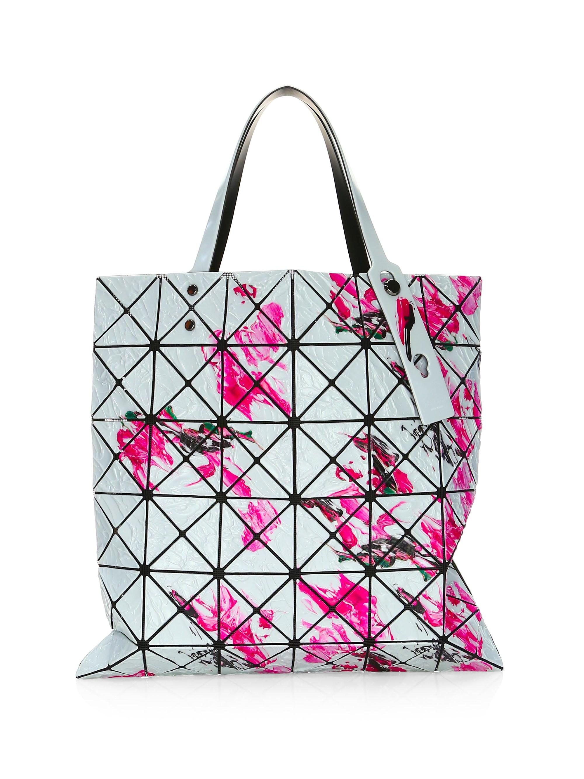 11598541f12f Lyst Bao Issey Miyake Oil Painting Tote