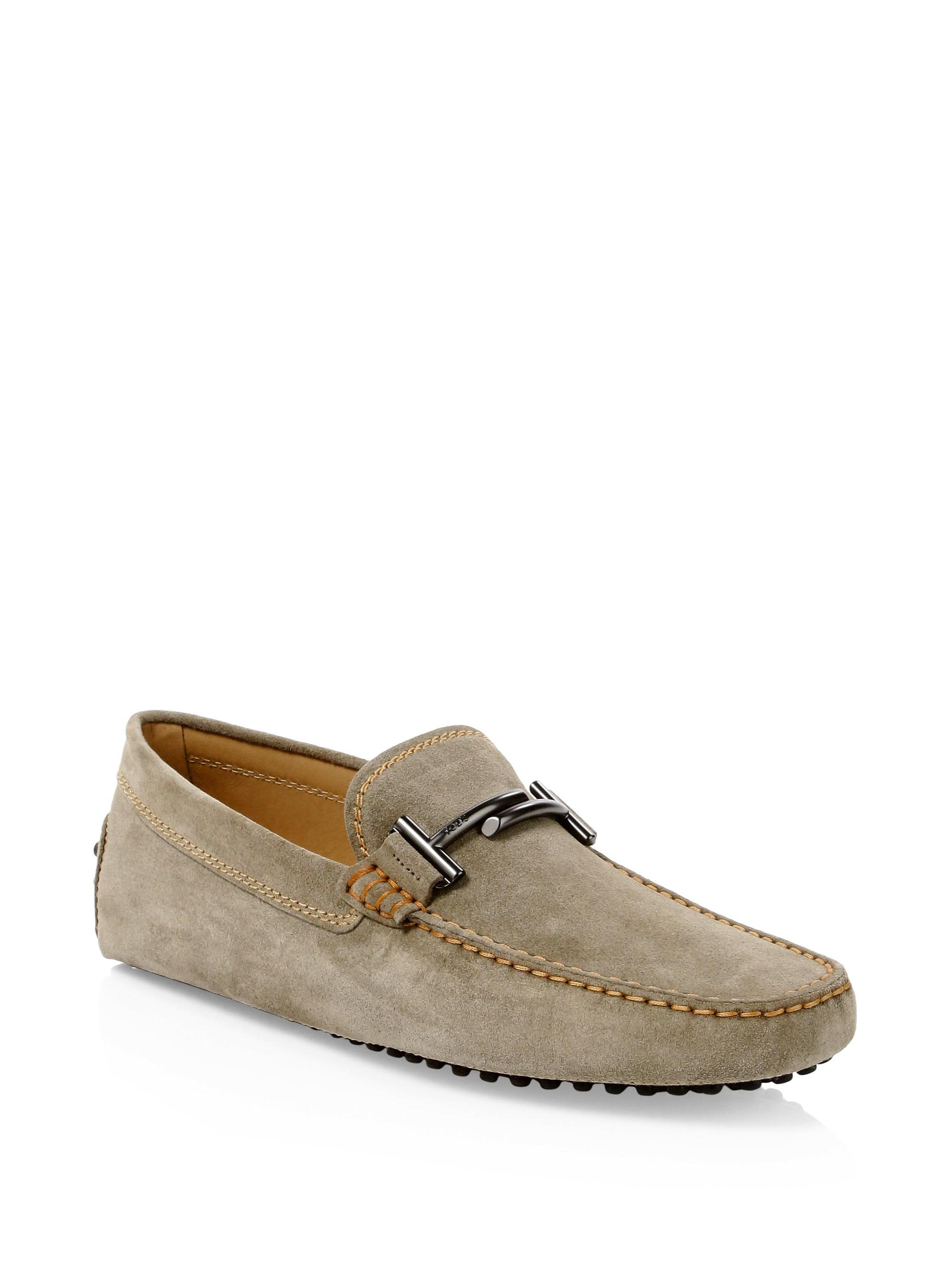 4fc437b815d Lyst - Tod S Gommini Suede Drivers for Men