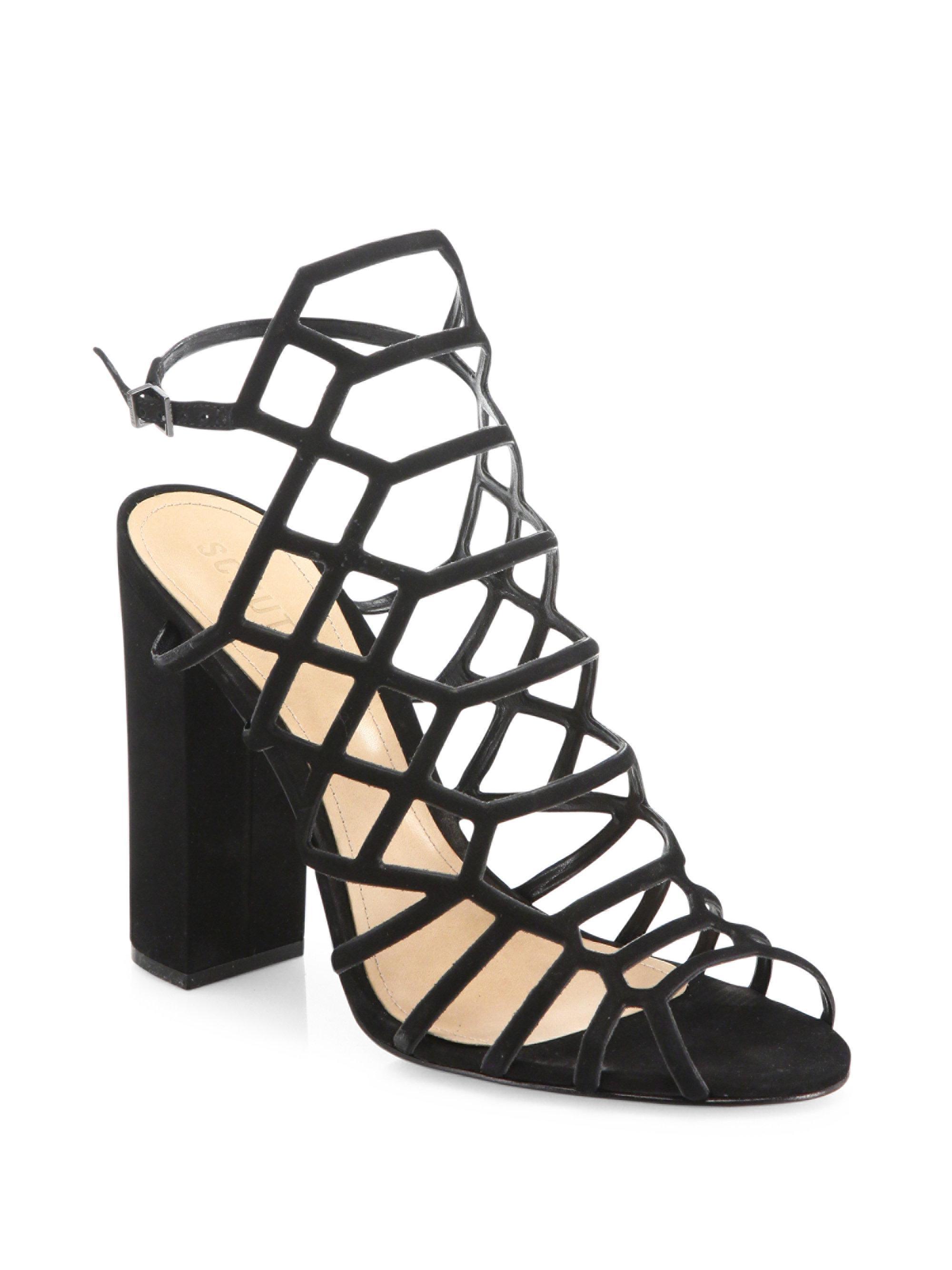 block heel sandals - Black Schutz 7j3aga2