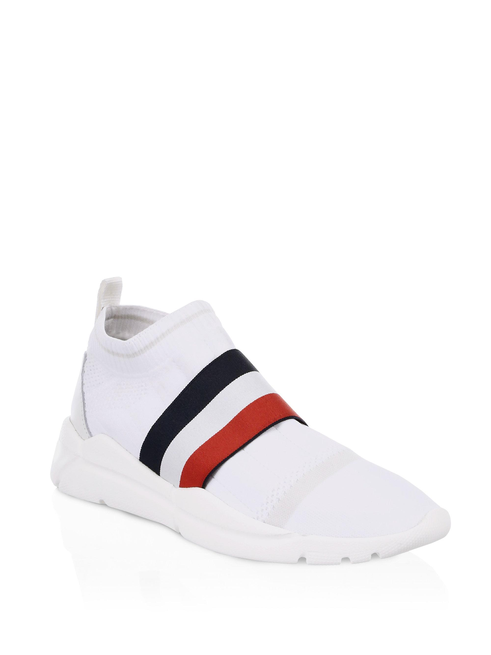 3297881d6 Lyst - Moncler Adon Knit Trainers in White for Men