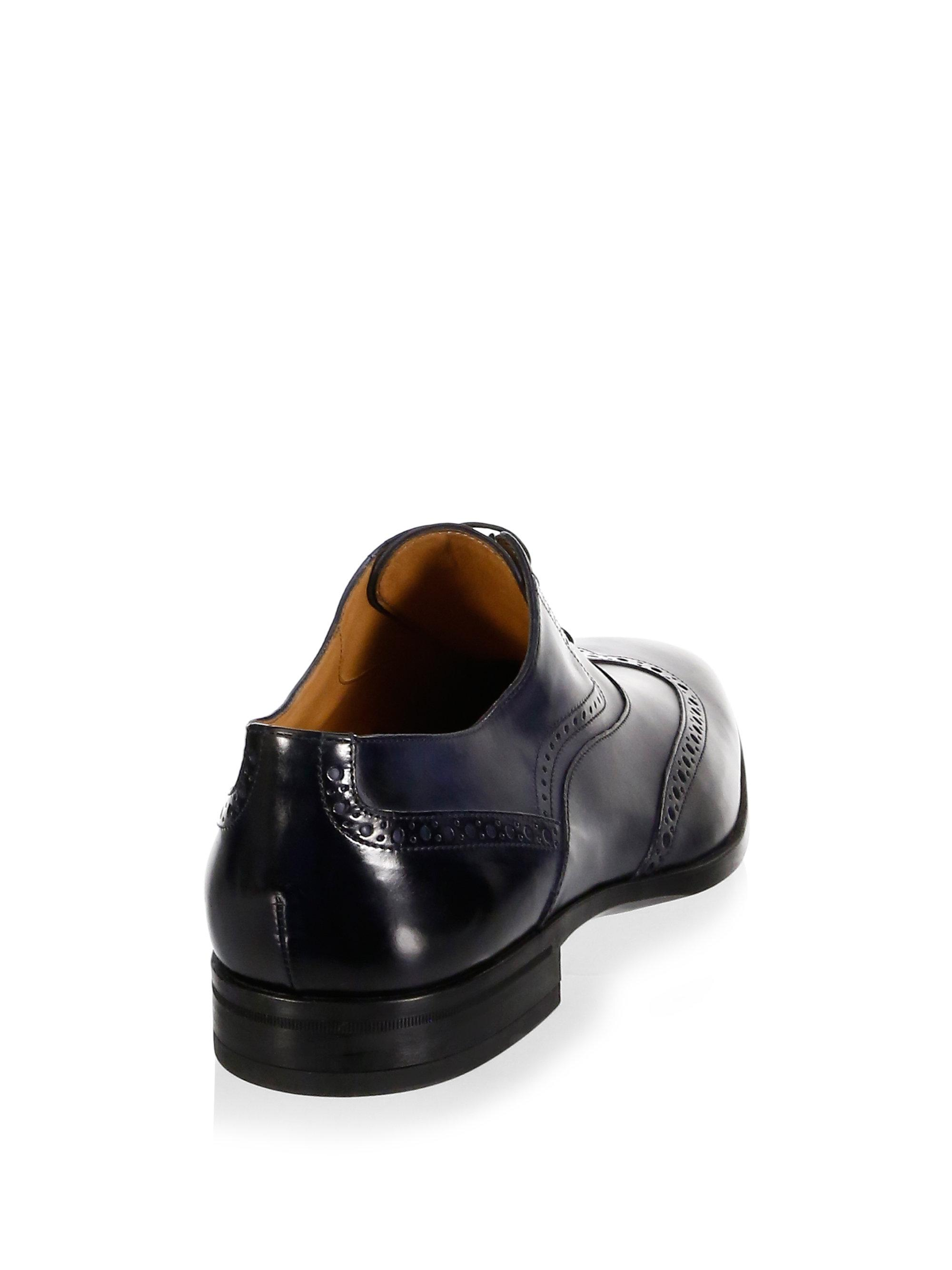 HUGO BOSS Kensington Wingtip Oxford Shoes M0bQJj1V3