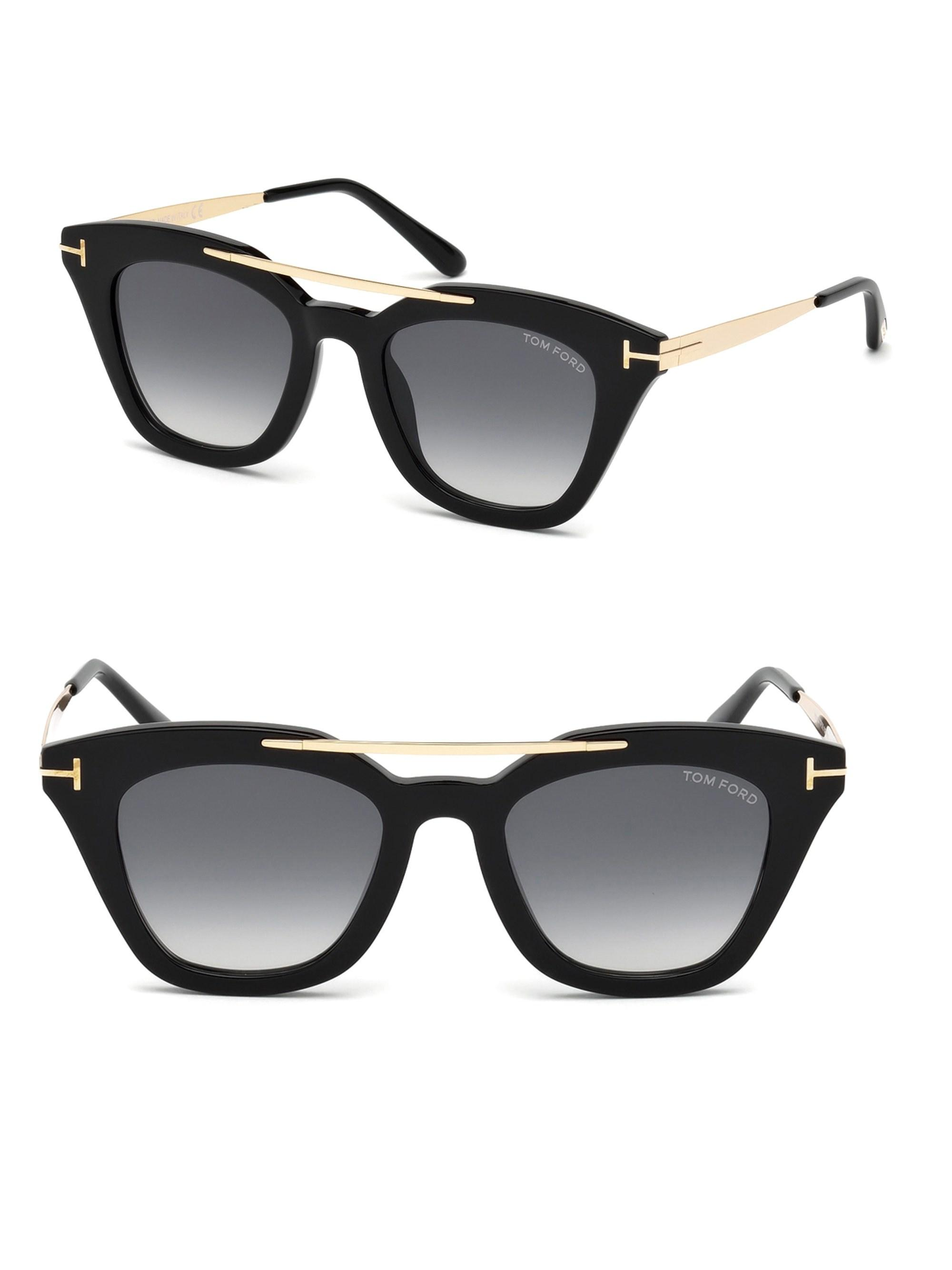b2d1f096282 Gallery. Previously sold at  Saks Fifth Avenue · Women s Cat Eye Sunglasses  Women s Tom Ford ...