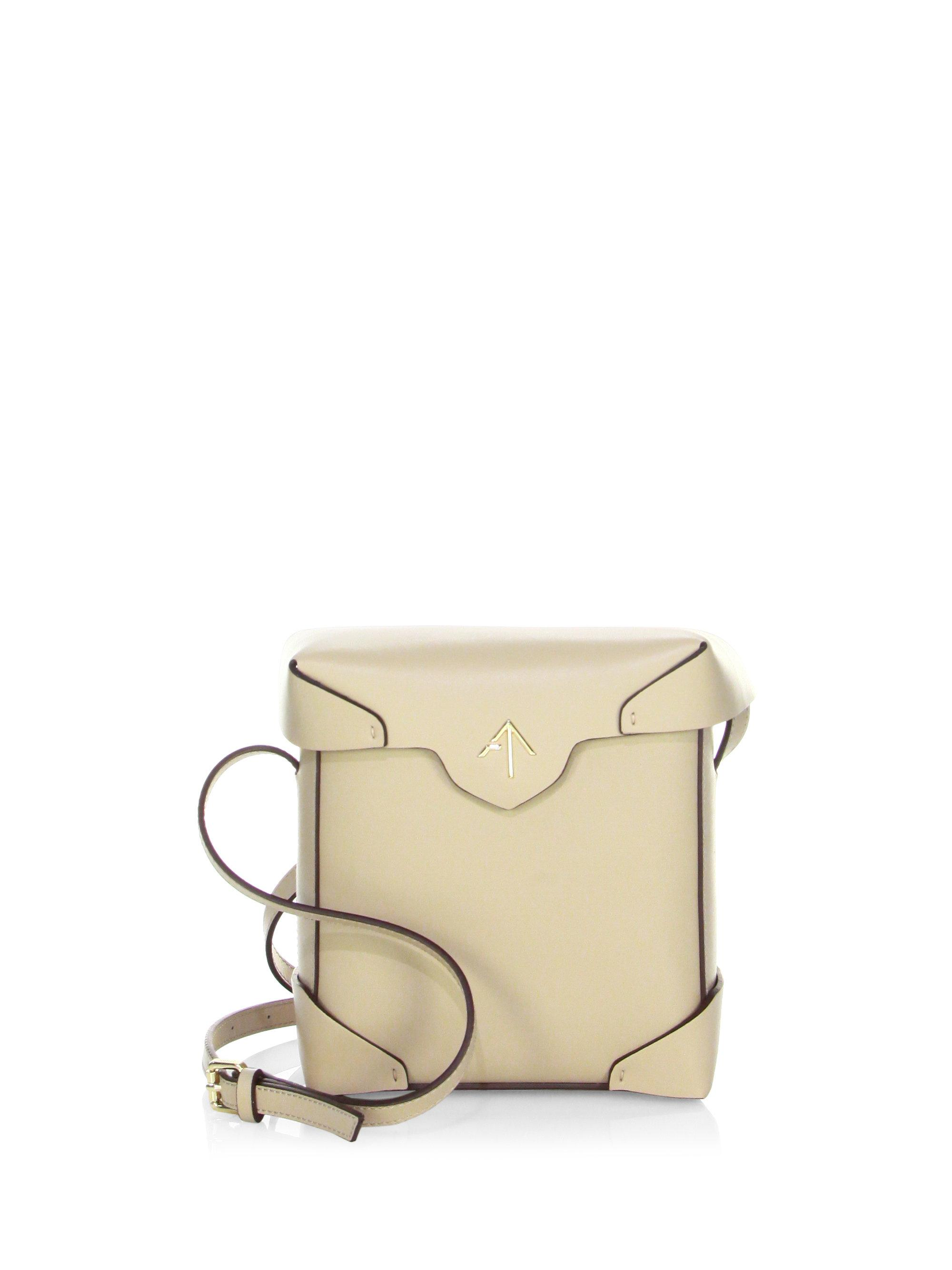 Manu Atelier Pre-owned - Leather crossbody bag 45Tb7i