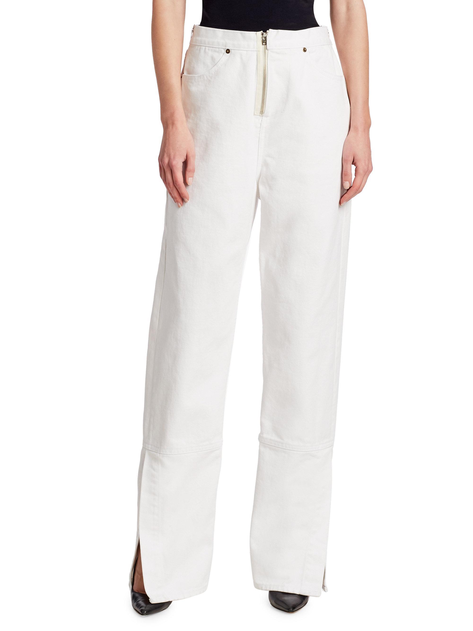 Beth High-rise Straight-leg Jeans - White TRE by Natalie Ratabesi LUlgnVWtq6
