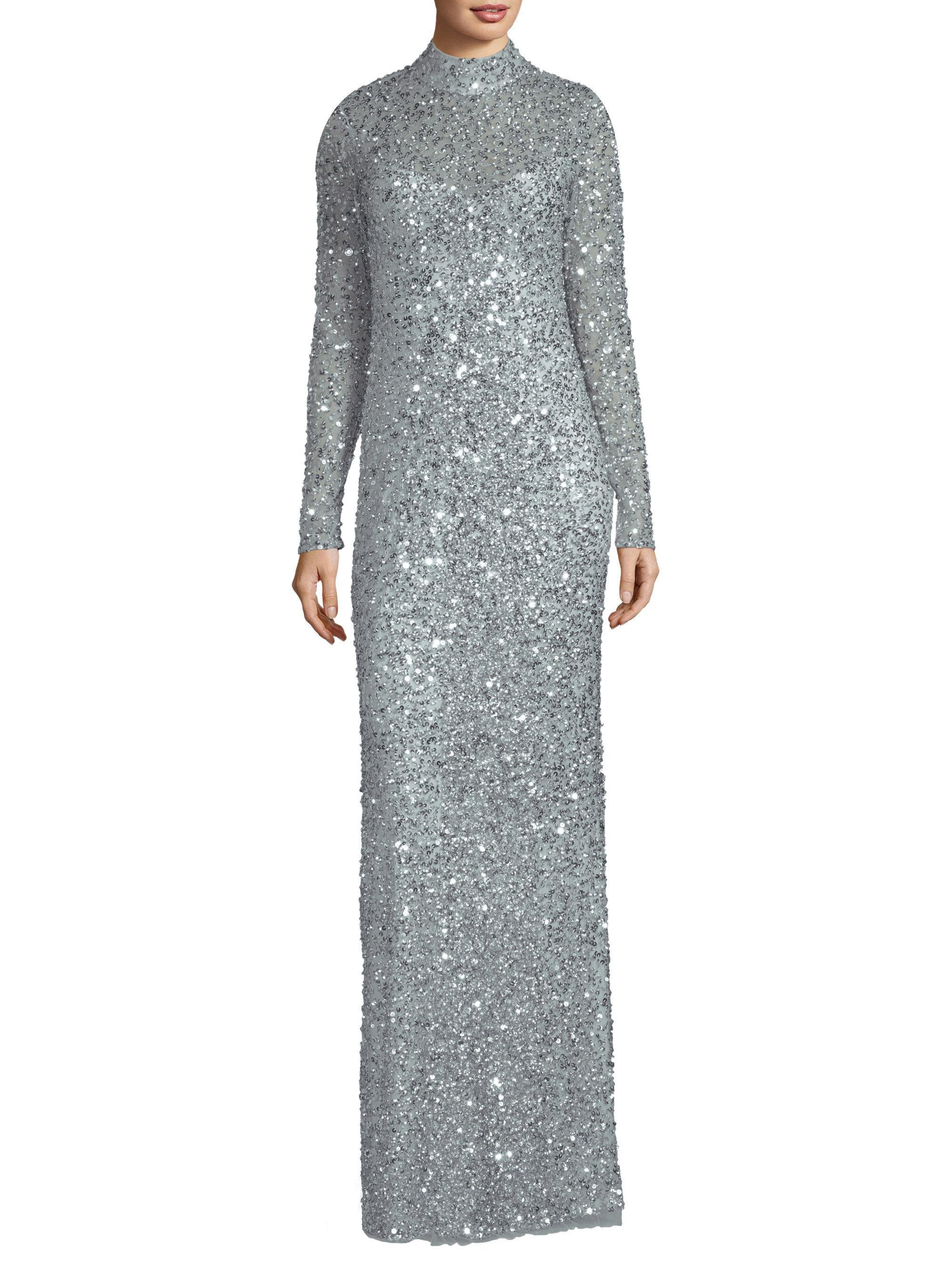 Lyst - Parker Black Leandra Sequin Dress in Gray