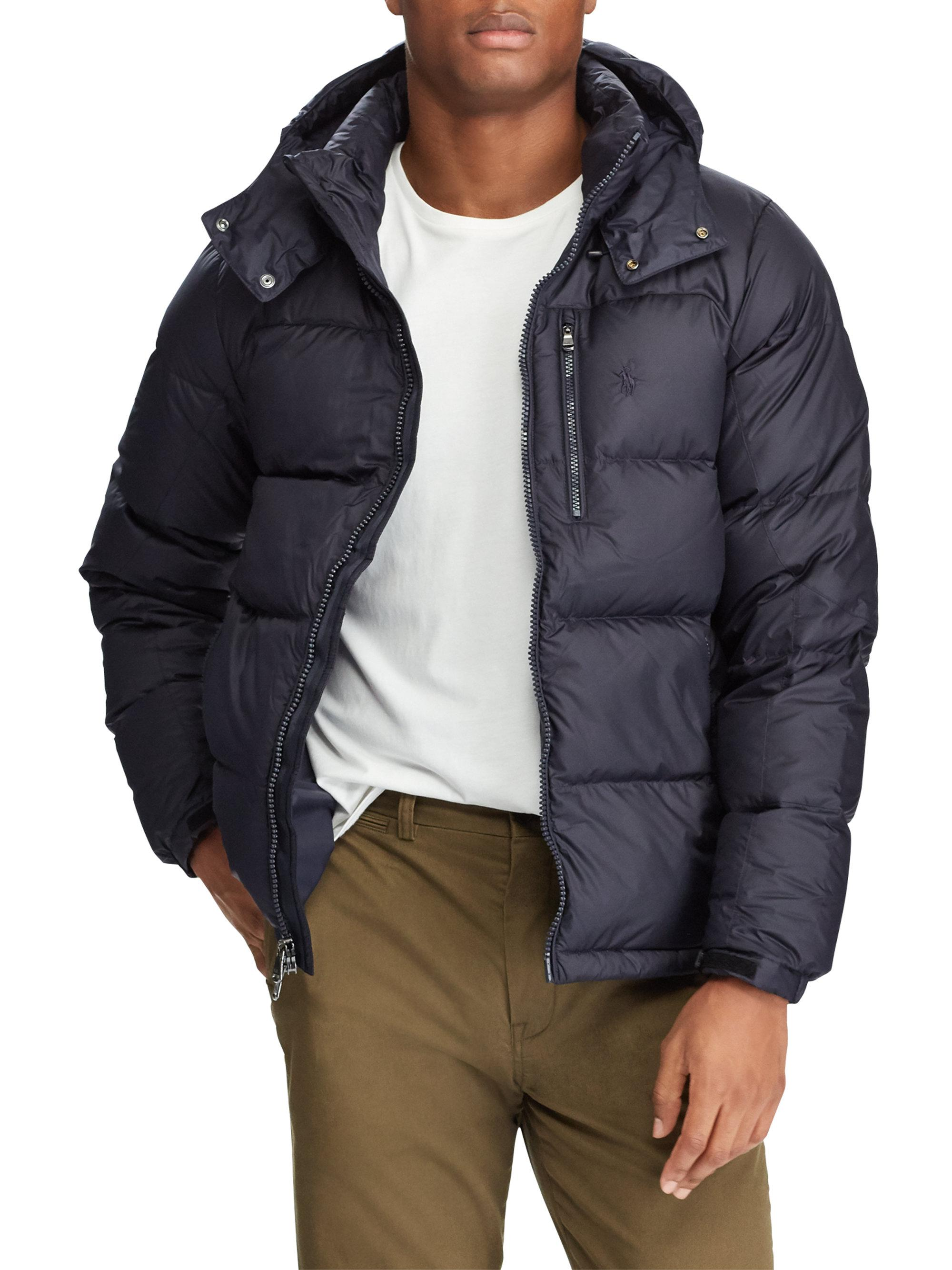 7f86181fcb466 Gallery. Polo Ralph Lauren. Men s Big   Tall Quilted Ripstop Down Jacket.