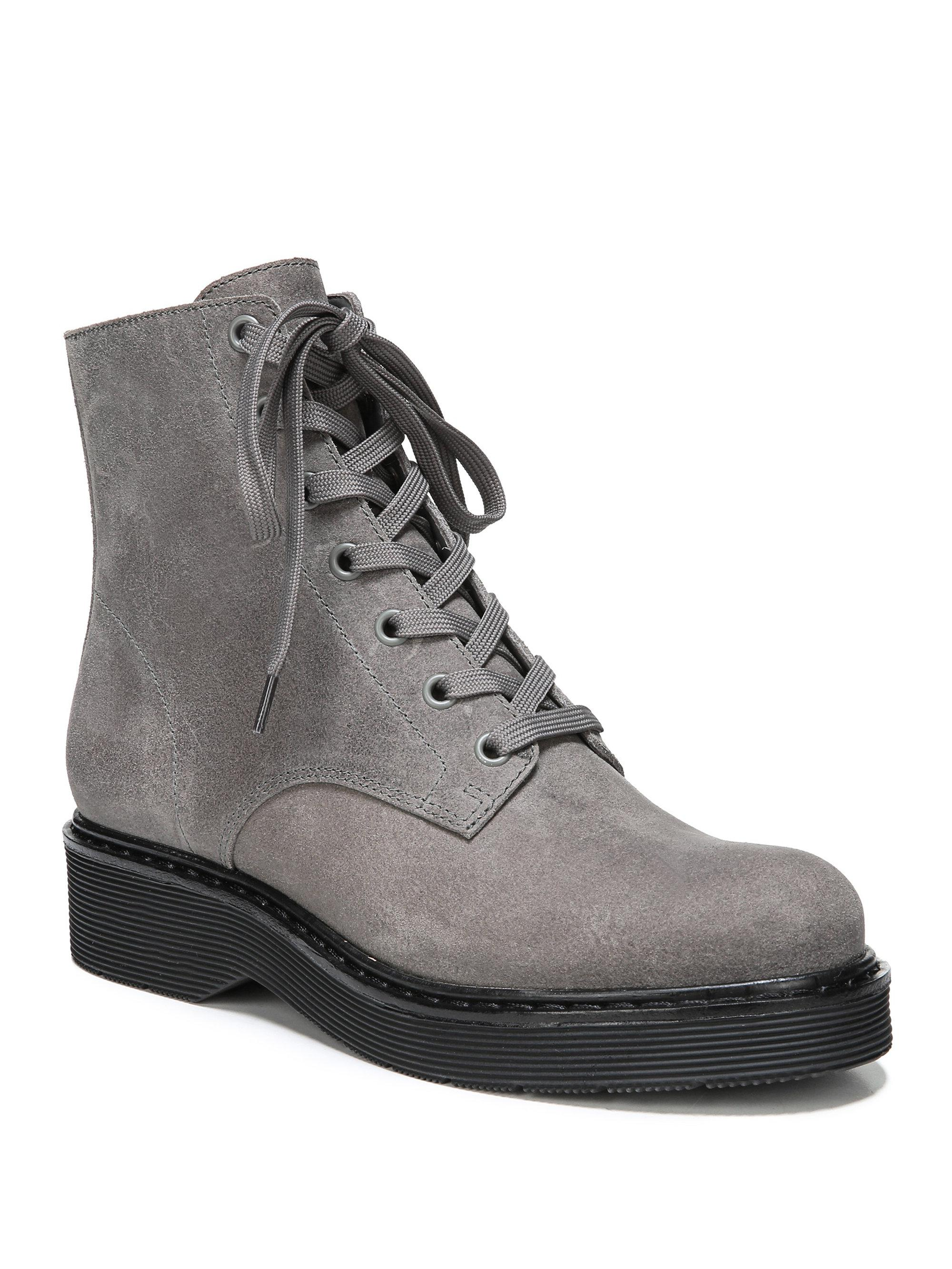 Vince Monastir Straus Suede Combat Boots o6pyU