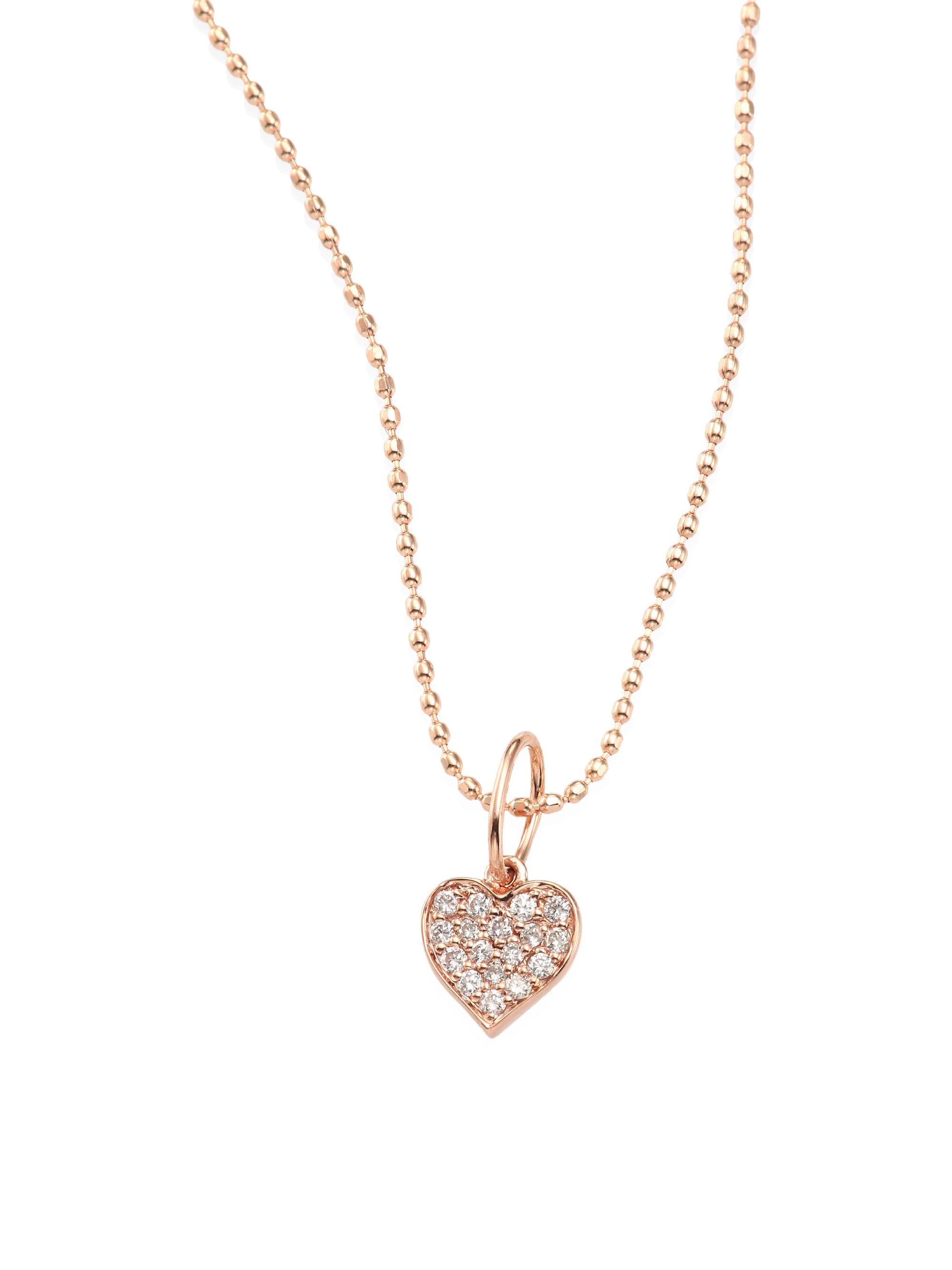 Sydney Evan 14k Diamond XO Pendant Necklace pknmw