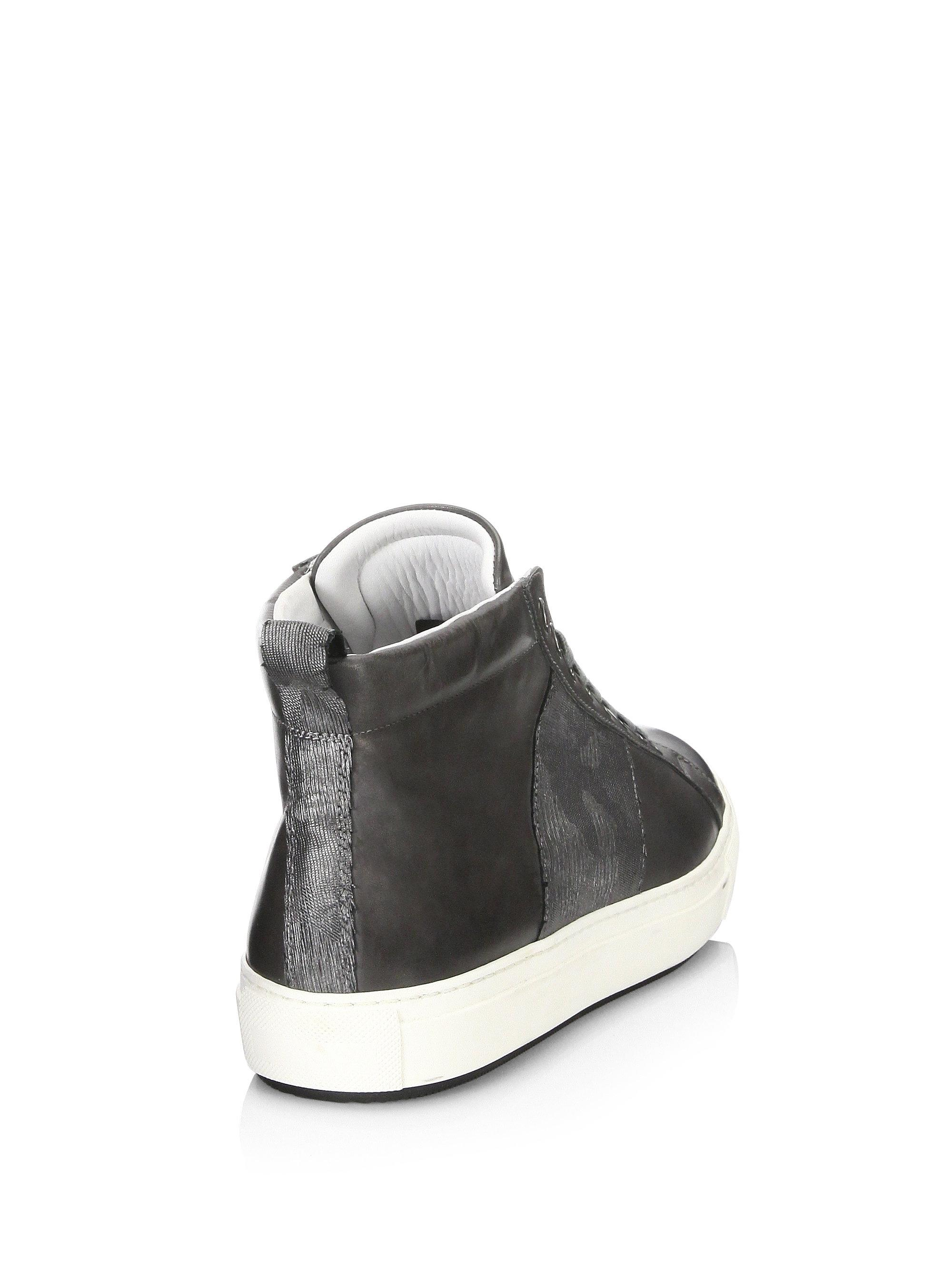 Madison Camouflage Web High-Top Sneakers hgQ8E