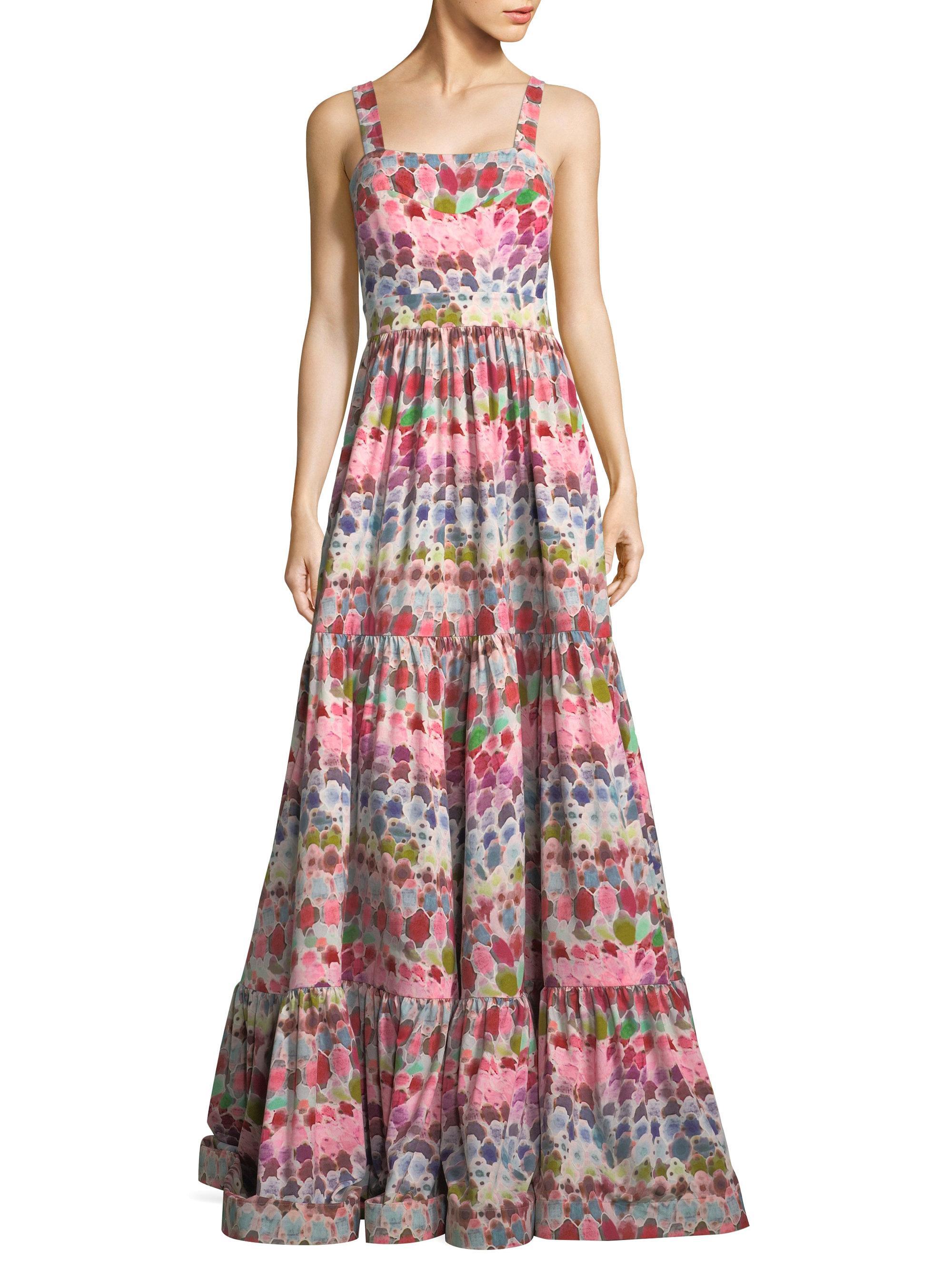 Lyst - Alexis Galia Crepe Dress