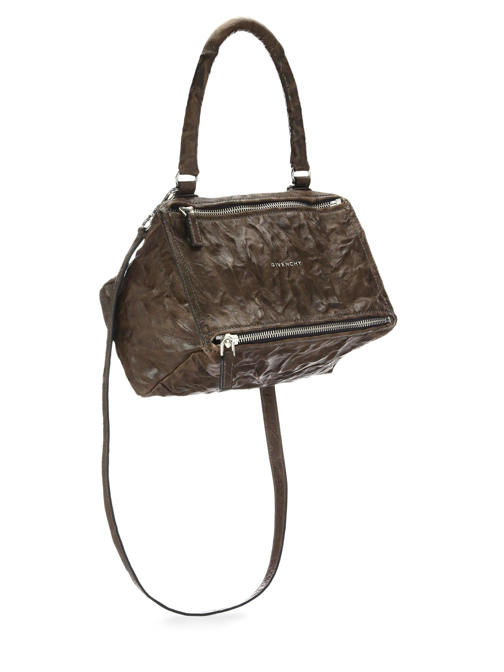 297ffbebd1 Lyst - Givenchy Pandora Small Pepe Leather Shoulder Bag in Brown