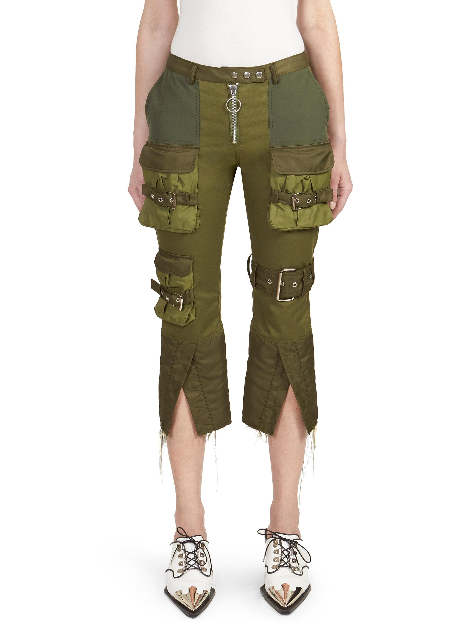 Patchwork Marques'almeida Cargo In Green Pants Lyst N8OPkX0Znw