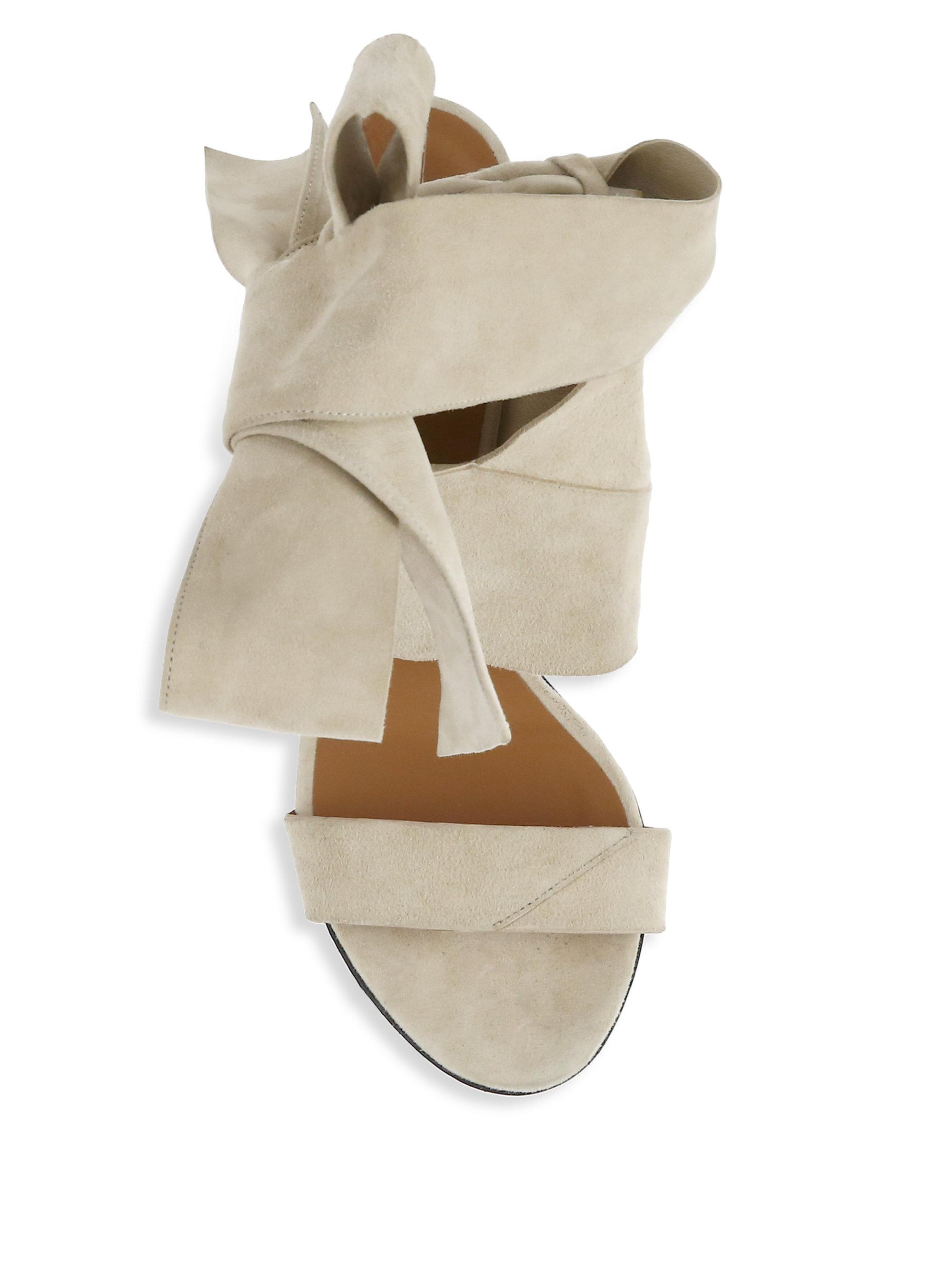 IRO Ditto Bow Sandals nOFm1