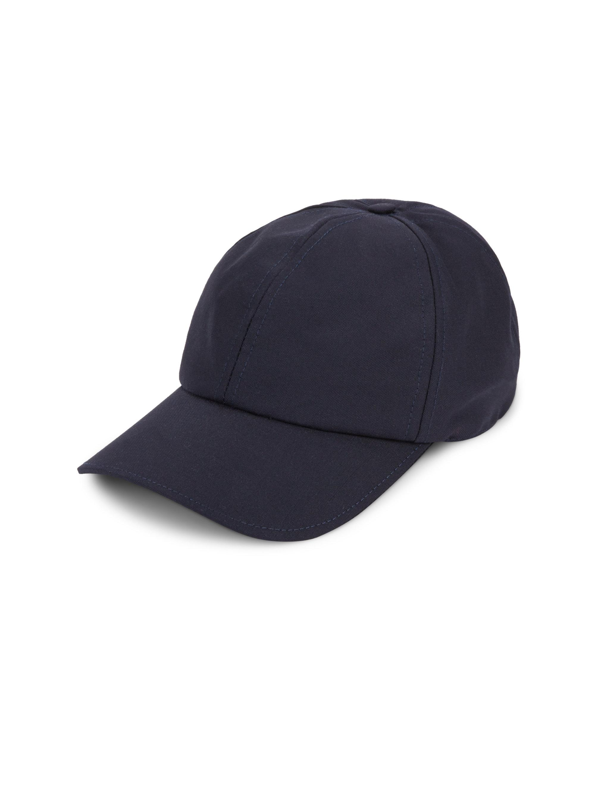 Wool-Blend Baseball Cap Officine Generale 8Q3le
