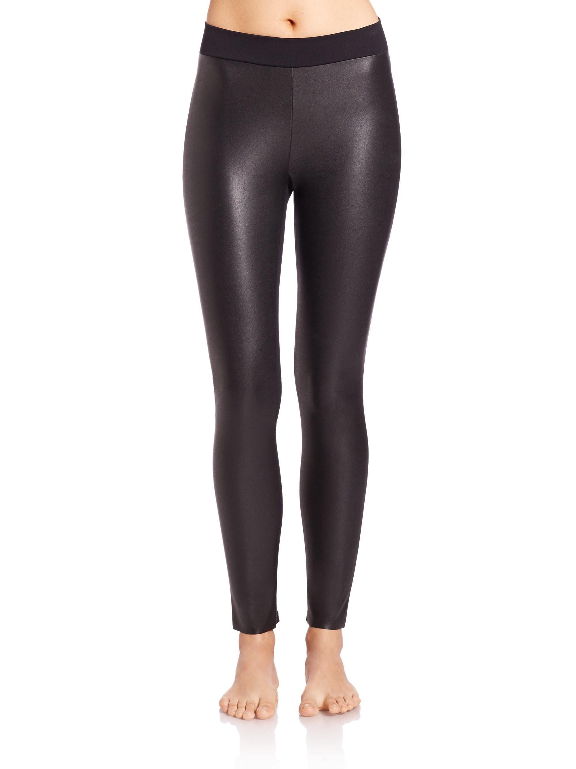58c4abd29d65 Lyst - Wolford Women s Perfect Fit Leggings - Black - Size Xl in Black