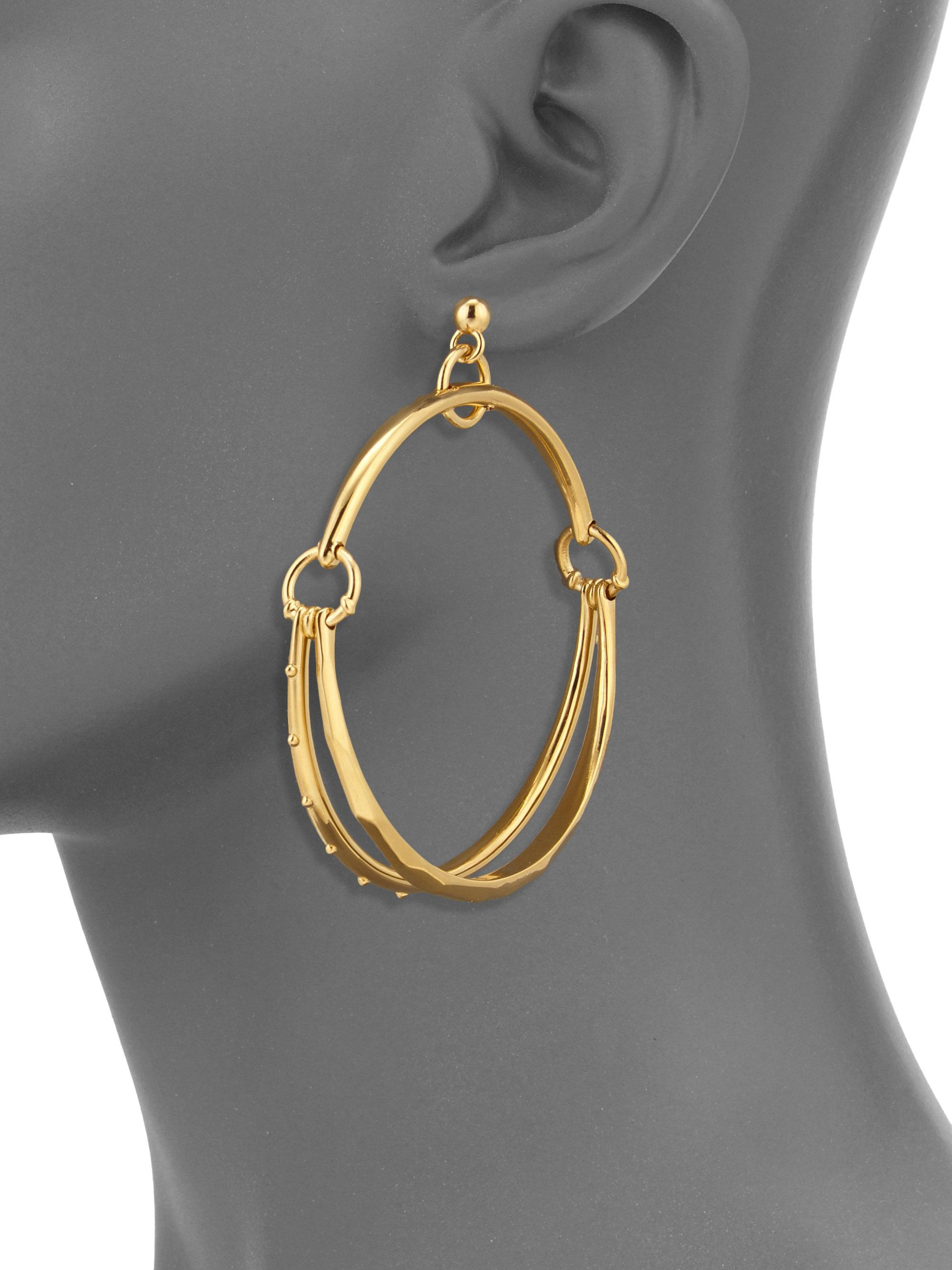 Chloé Drop hoop earrings iICgKsIqv