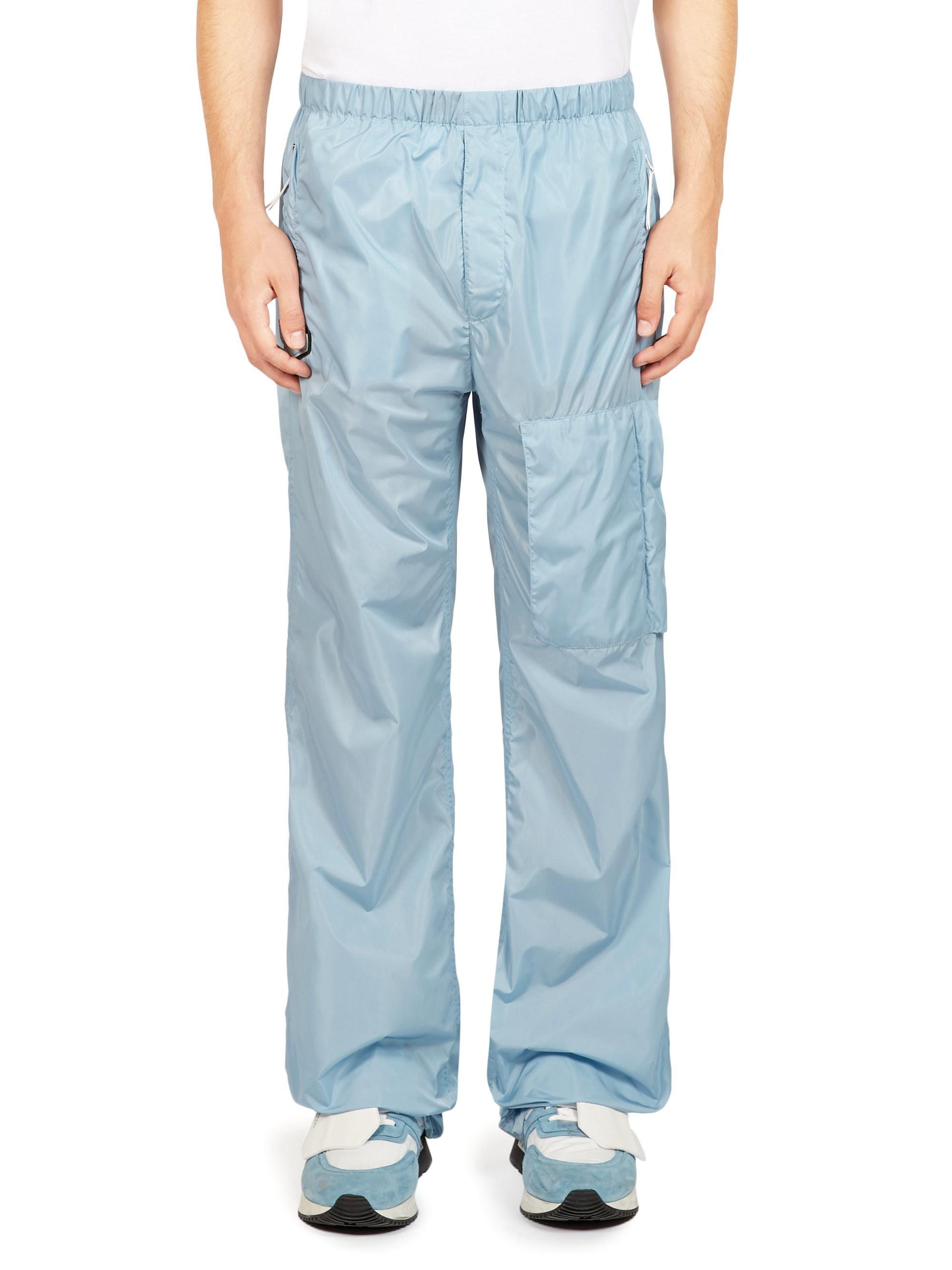2b3d0d69b76a Givenchy nylon parachute pants in blue for men lyst jpg 2000x2667 Nylon  parachute pants