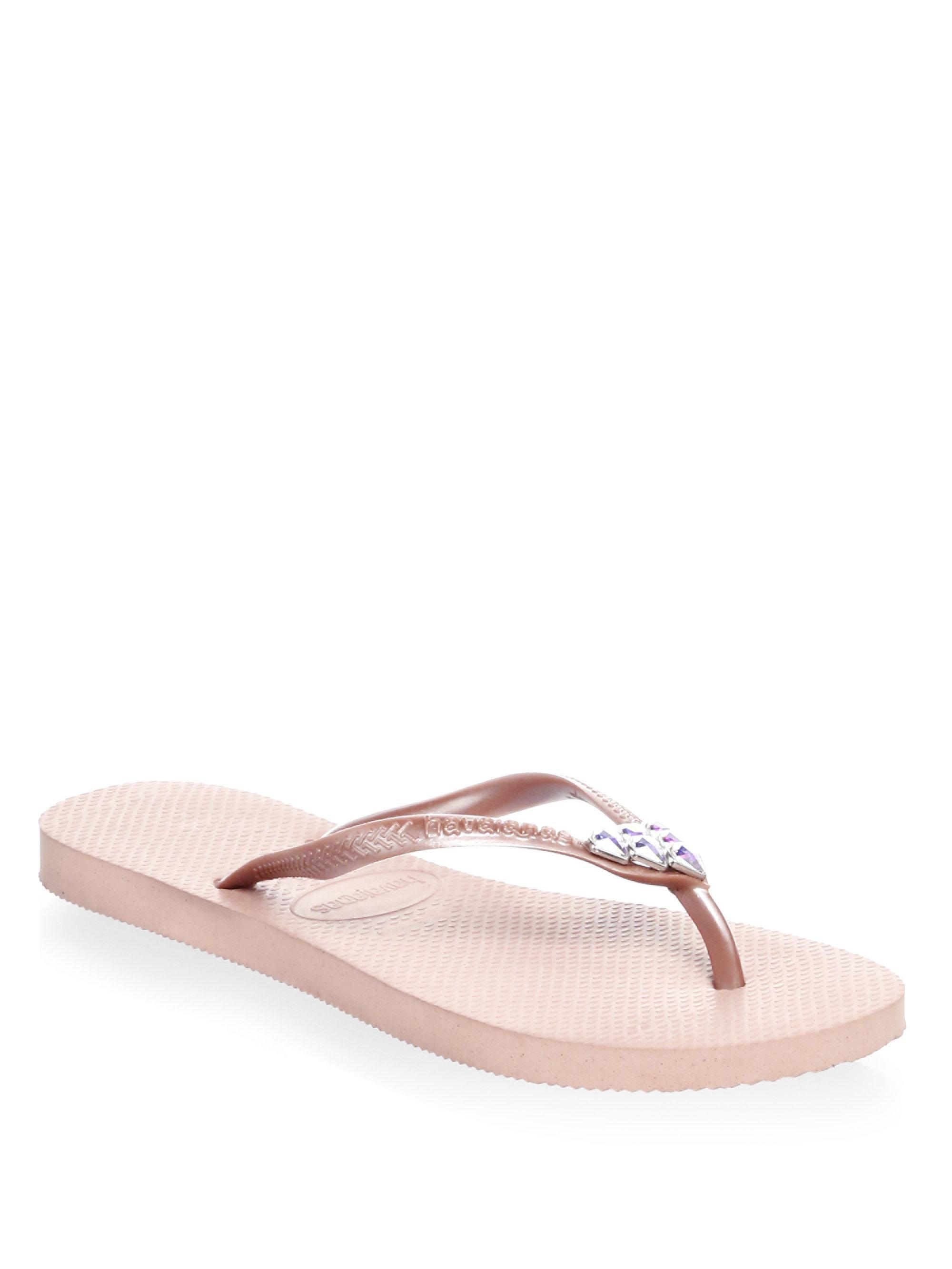a227cf6e4 Havaianas Slim Mermaid Flip Flops in Pink - Lyst