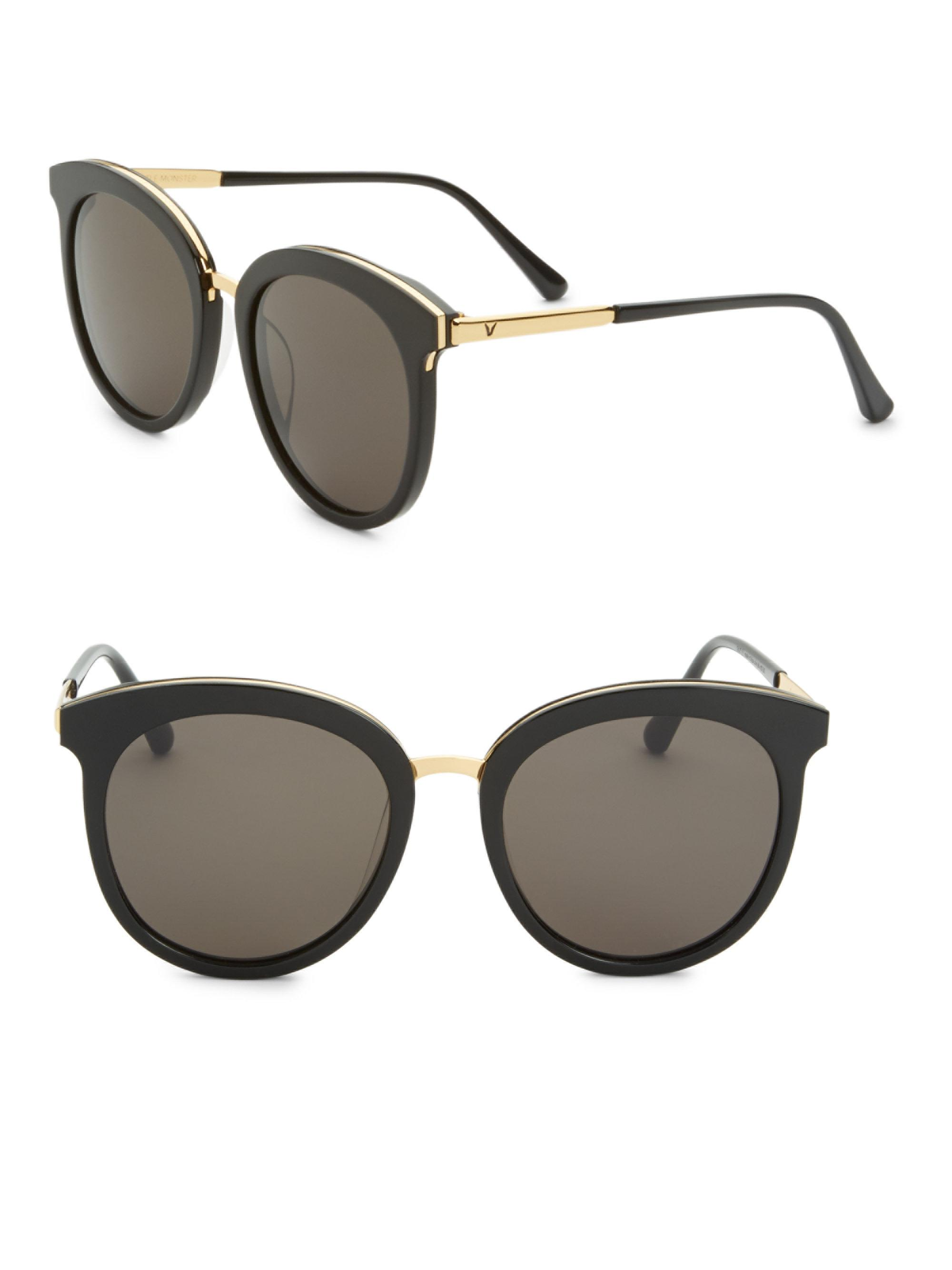 22b08a4d8a8 Lyst - Gentle Monster Someone Tale 55mm Sunglasses in Black