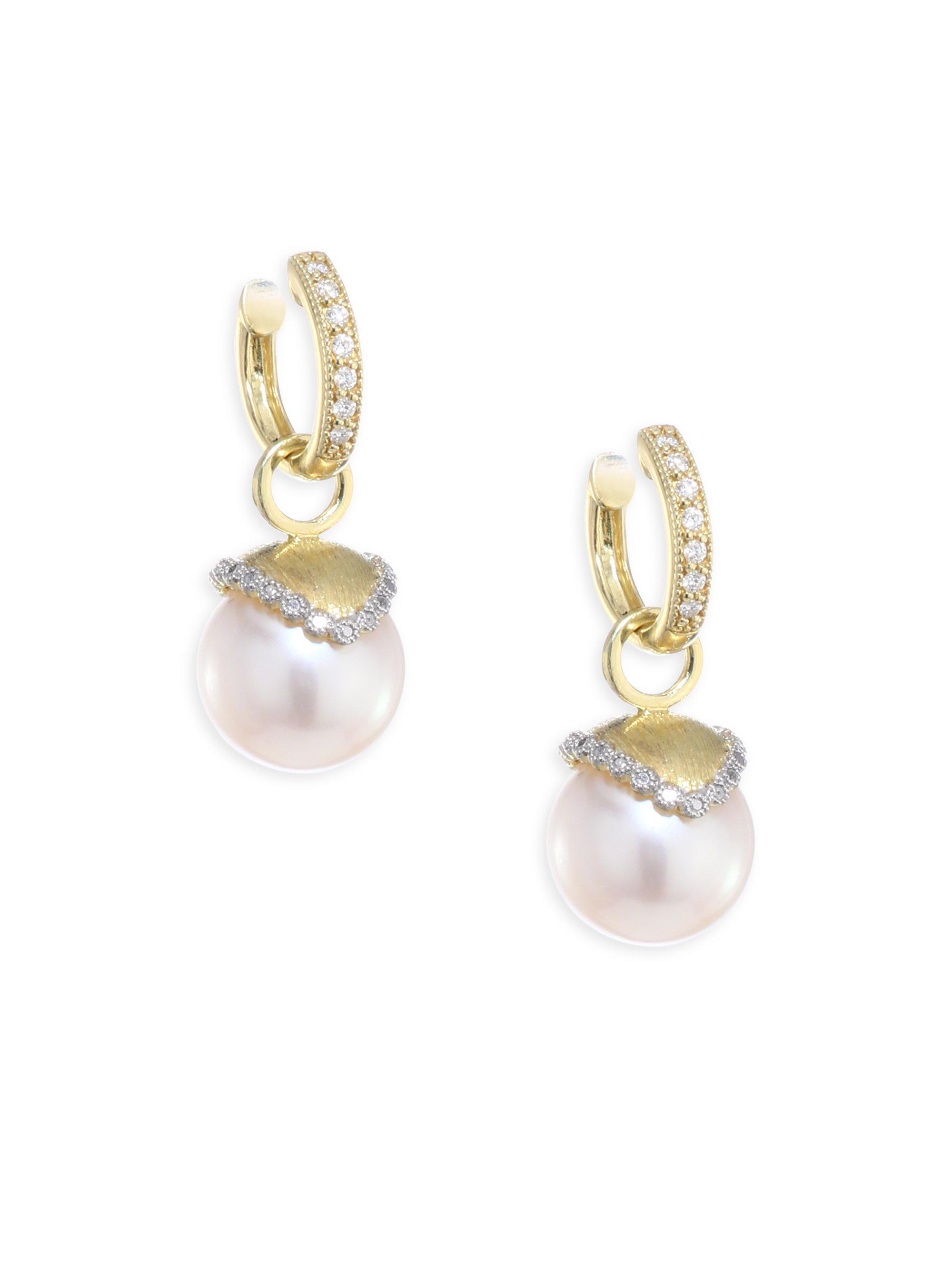 Jude Frances 18K Provence Pearl Drop Earrings HTMiPXnTV