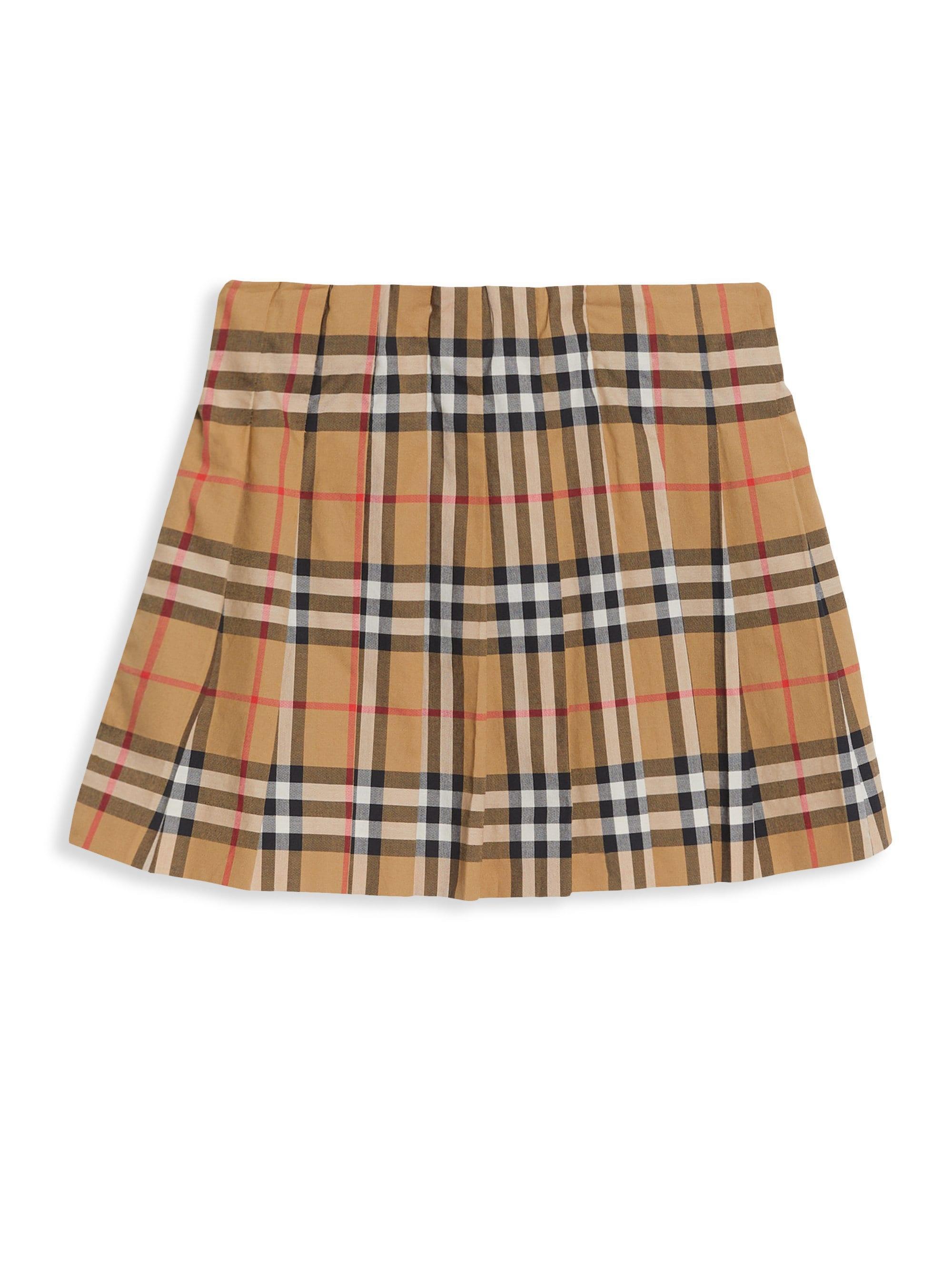 109ecf9db Burberry. Women's Little Girl's & Girl's Tartan A-line Skirt