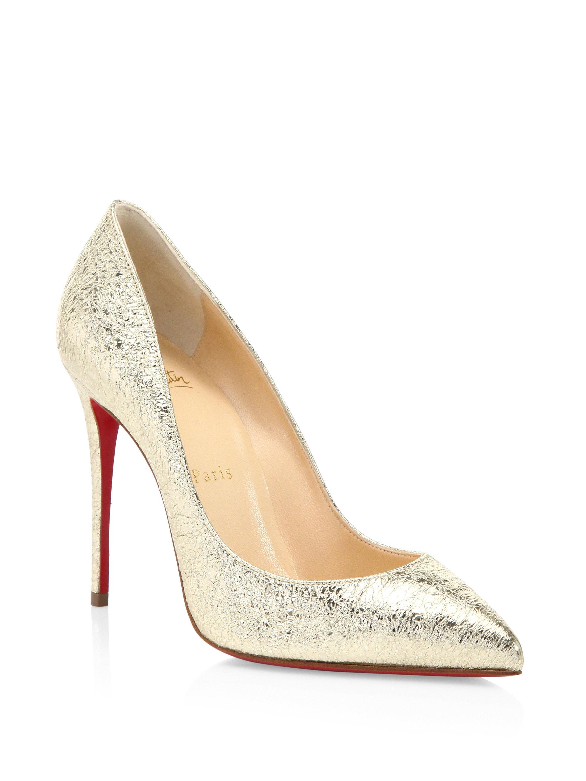 81f4d11d038 Gallery. Previously sold at  Saks Fifth Avenue · Women s Pointed Toe Pumps  Women s Christian Louboutin Pigalle ...