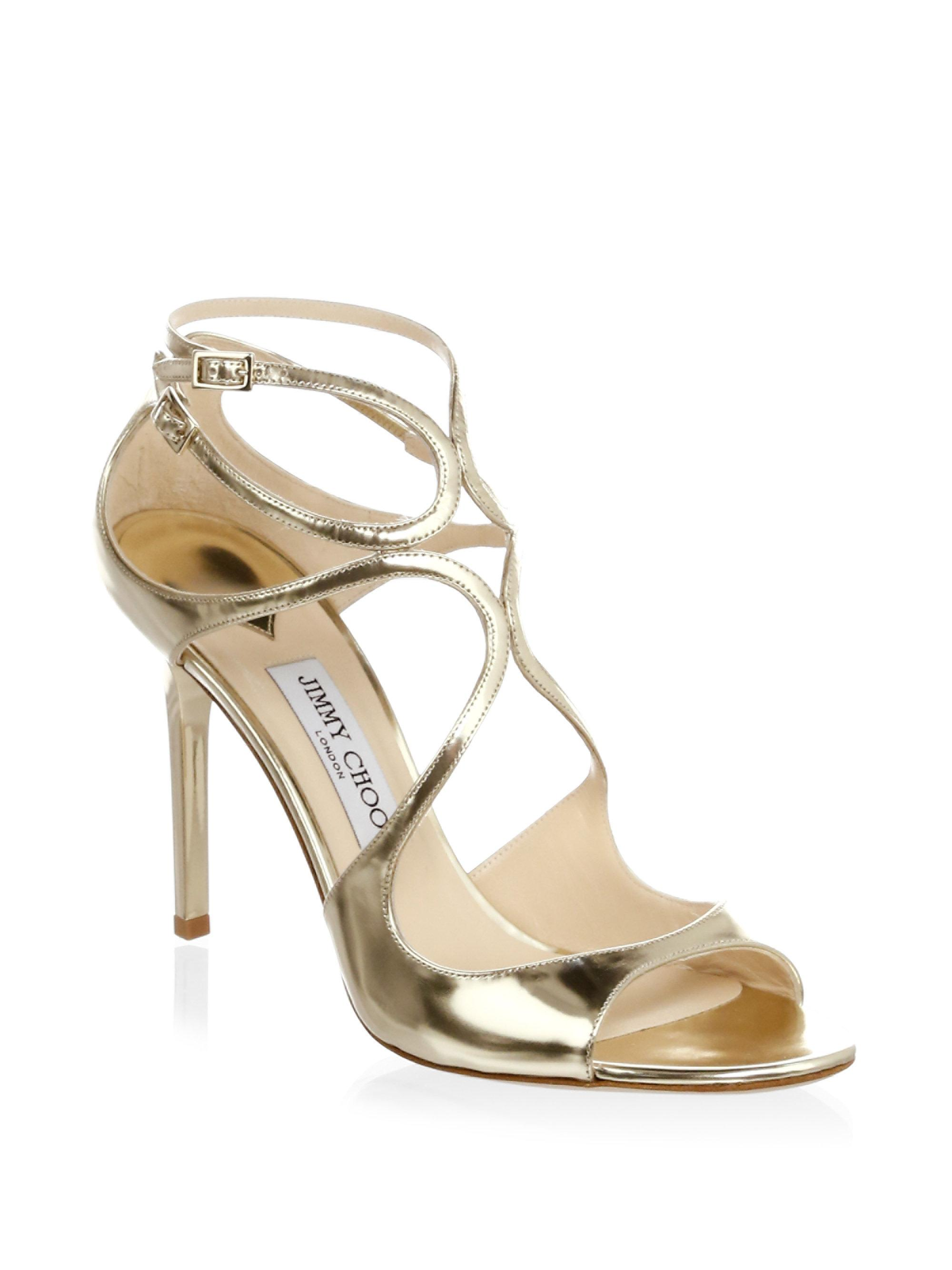 Jimmy Choo Pat Crossover Sandals discounts for sale DtRgicEqA