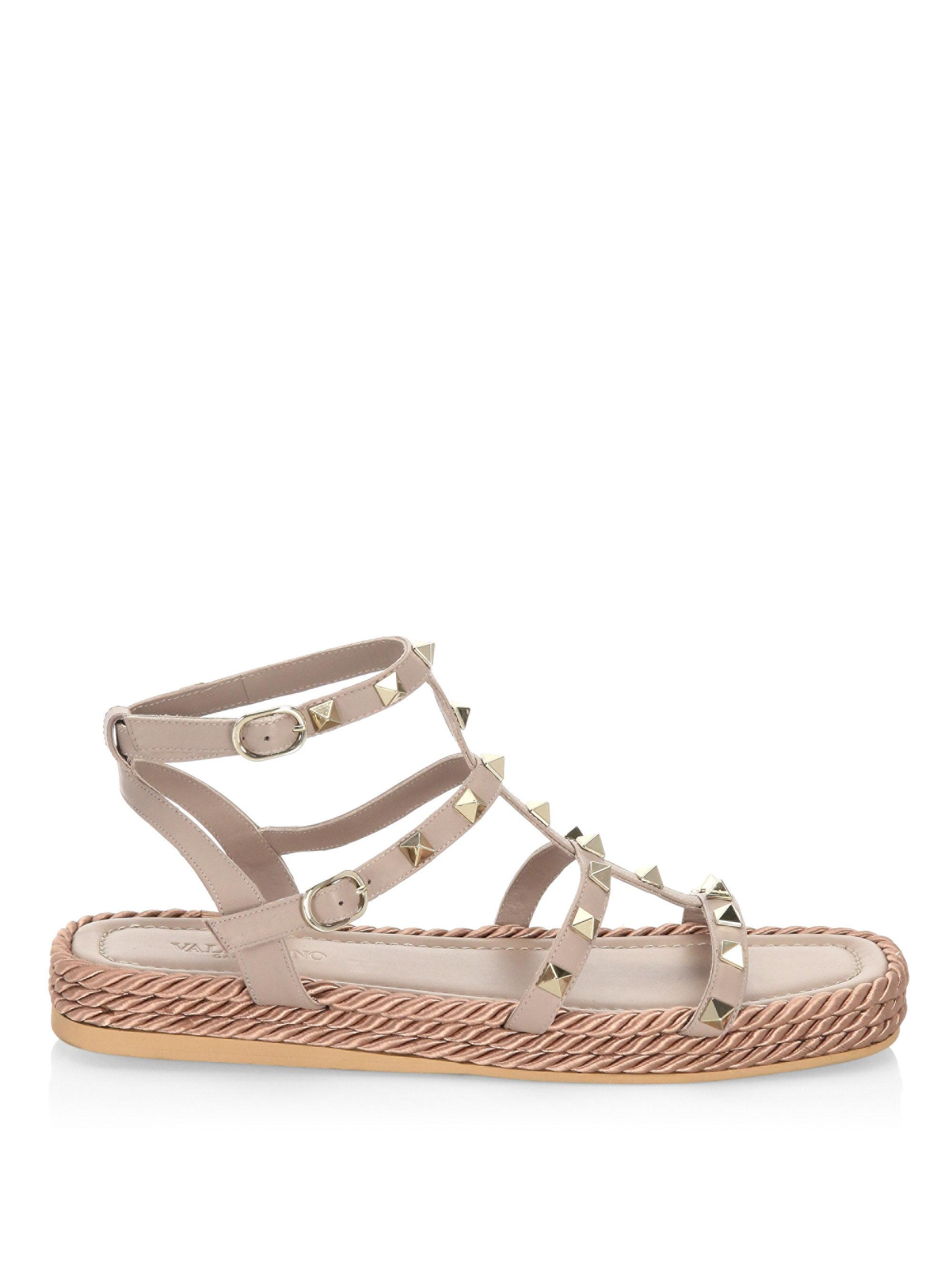 Valentino Women's Torchon Strappy Sandal 3GOzuR0zl