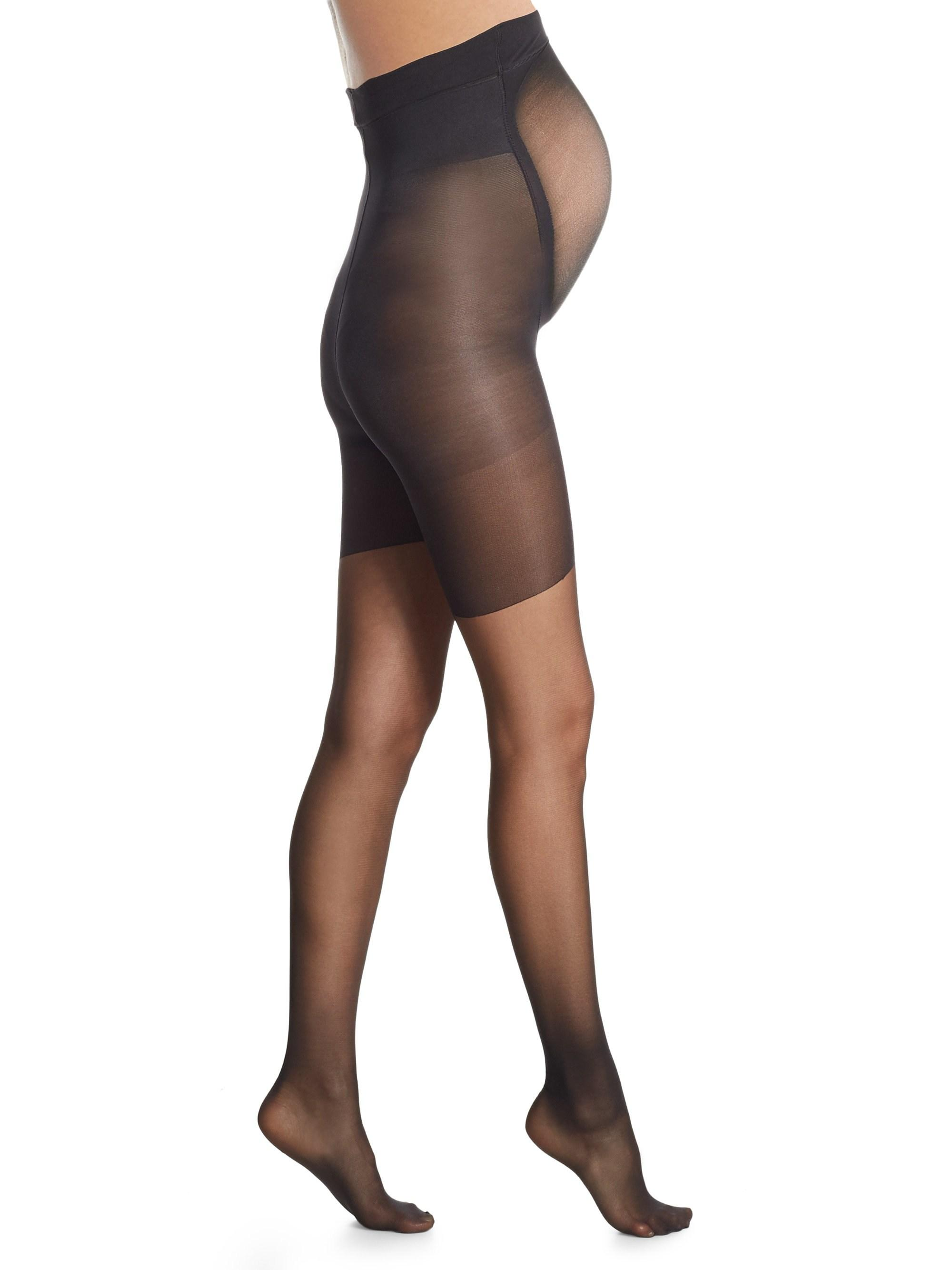 40110f2783 Spanx Mama Maternity Full-length Pantyhose in Black - Lyst