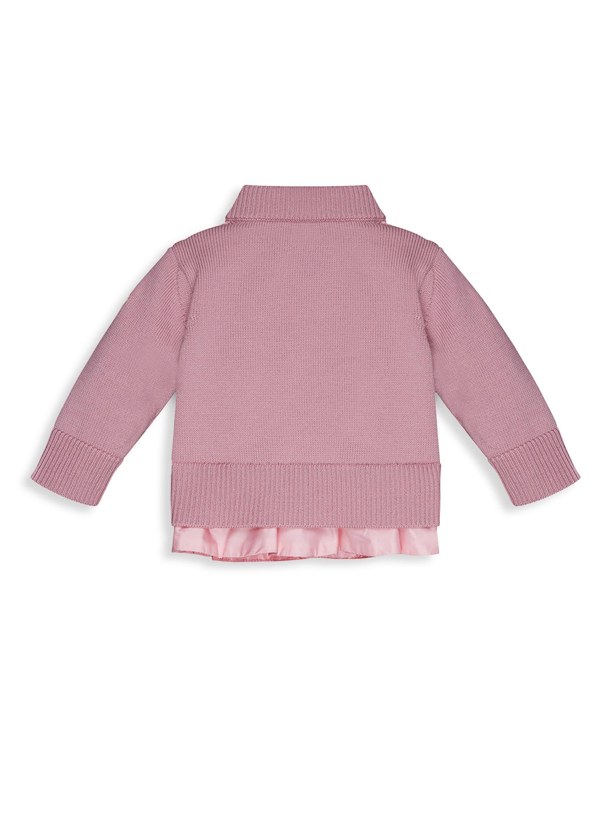 dfb3af6e8c1b Moncler Baby Girl s   Little Girl s Combo Ruffle Hem Jacket in Pink ...