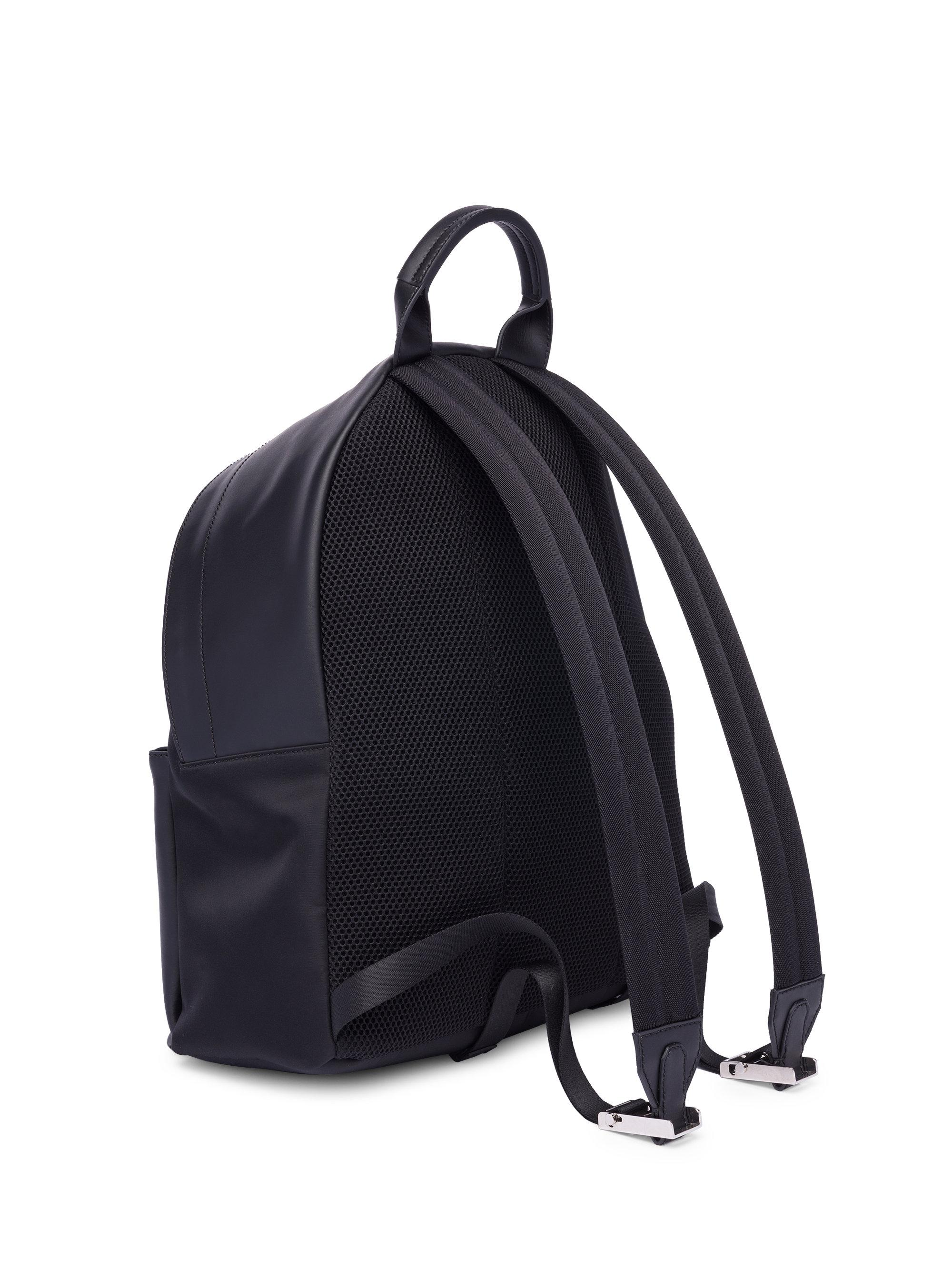 Lyst - Fendi Butterfly Leather   Tech-twill Backpack in Black for Men c402b5c0bc36a