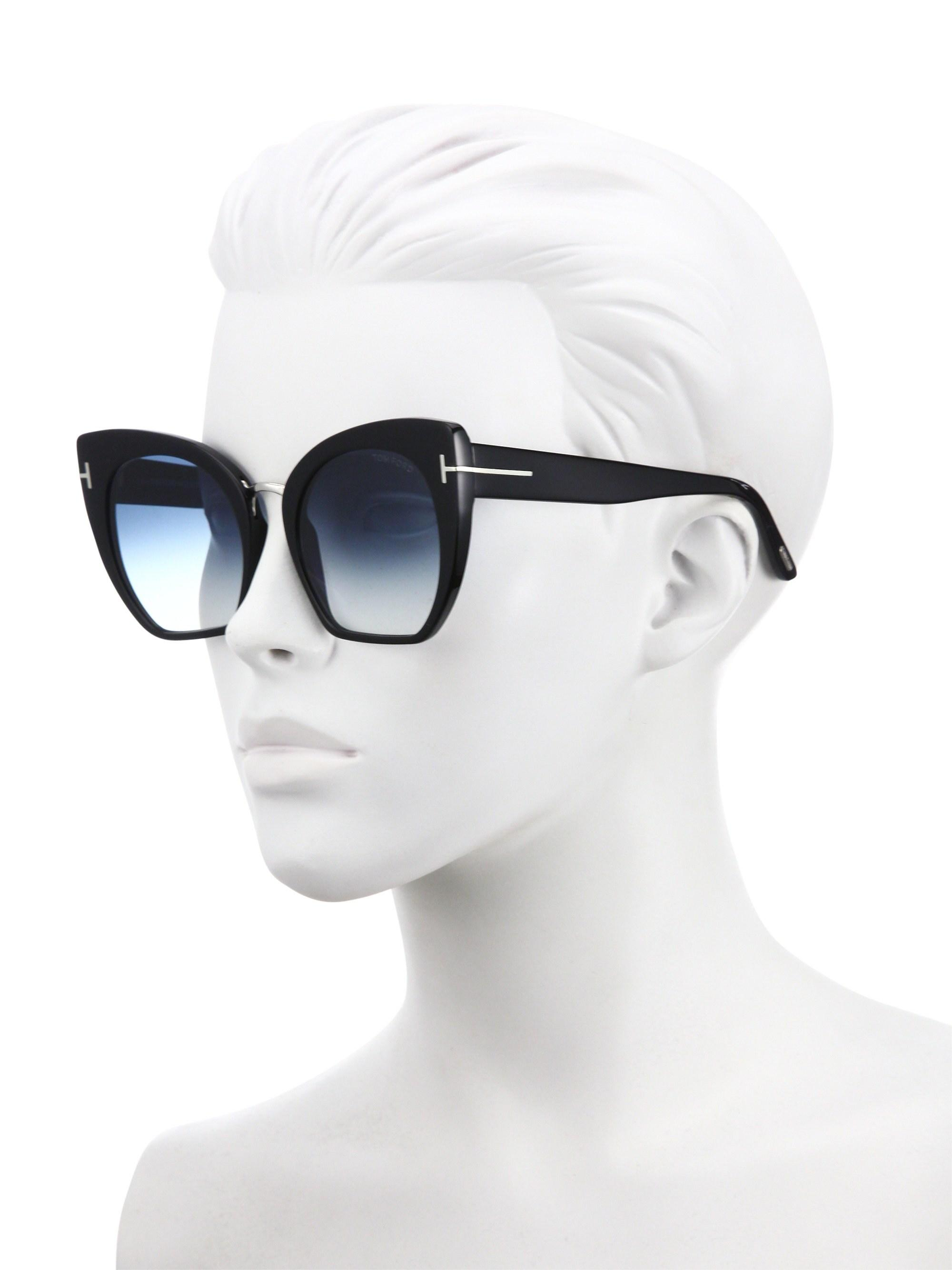 ba3fed6fa83f Gallery. Previously sold at  Saks Fifth Avenue · Women s Tom Ford Cat Eye  ...