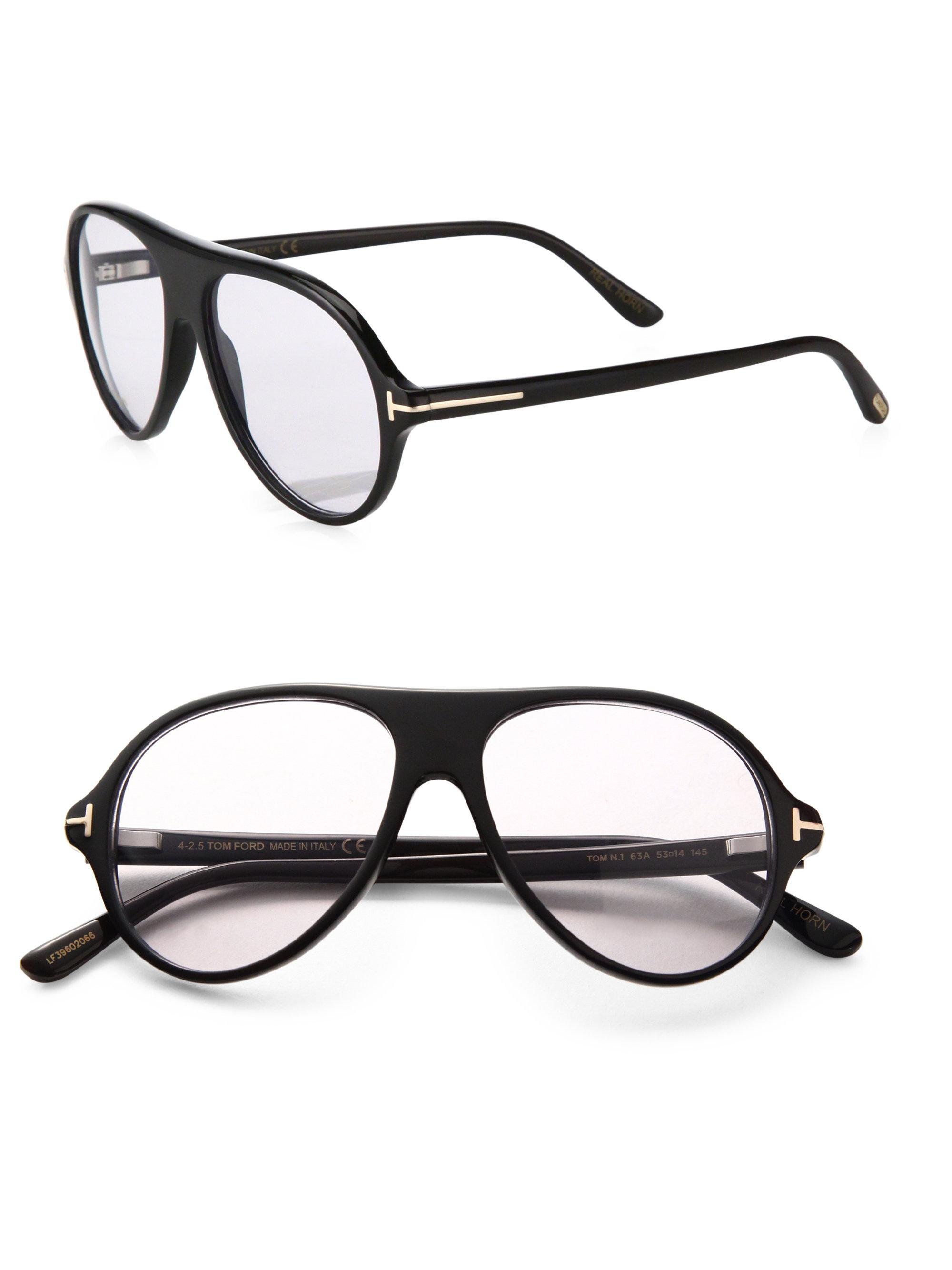 8f552601f9ef Lyst - Tom Ford Private Collection Tom N.1 Round Optical Glasses in ...